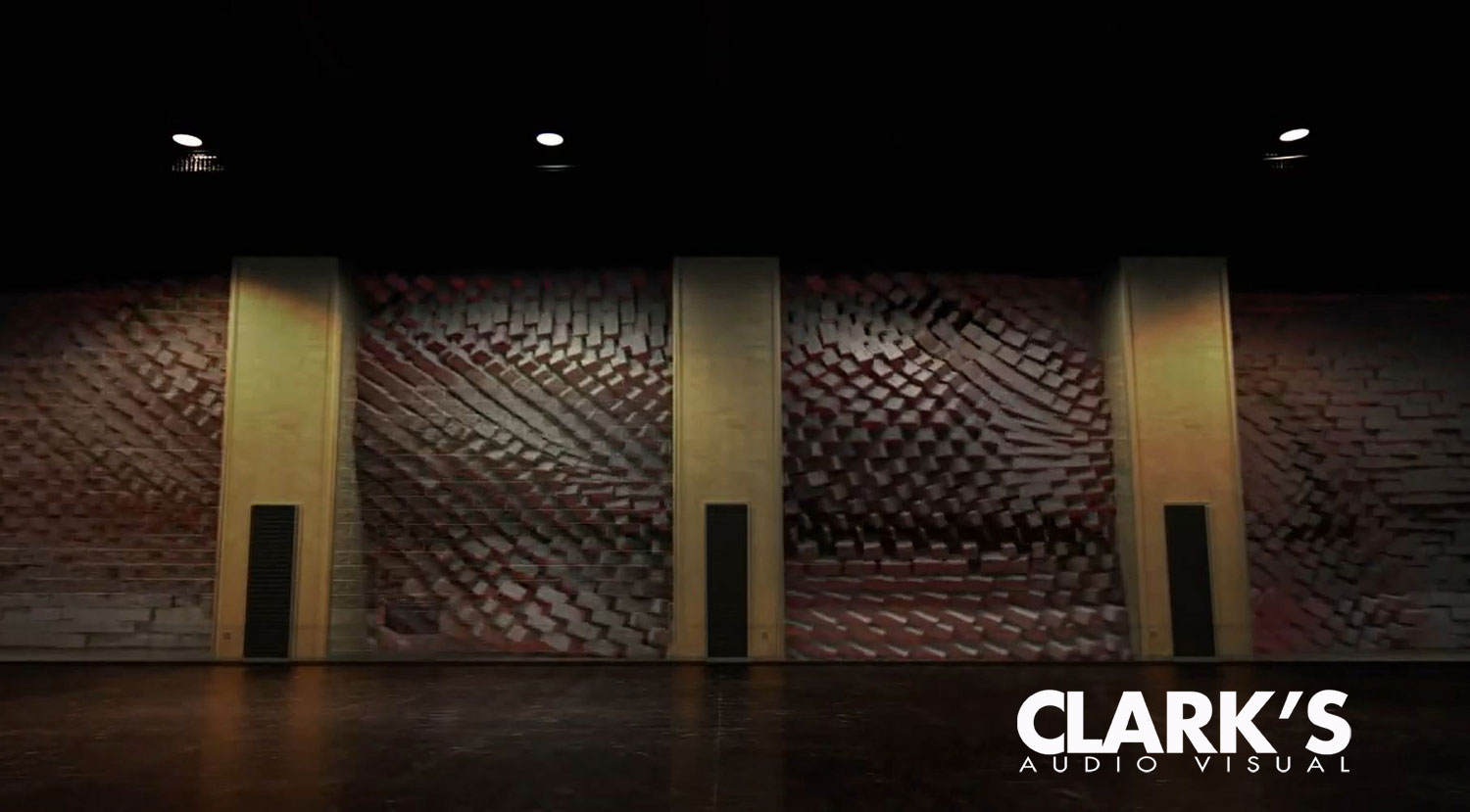 Clark's Audio Visual  Projection Mapping