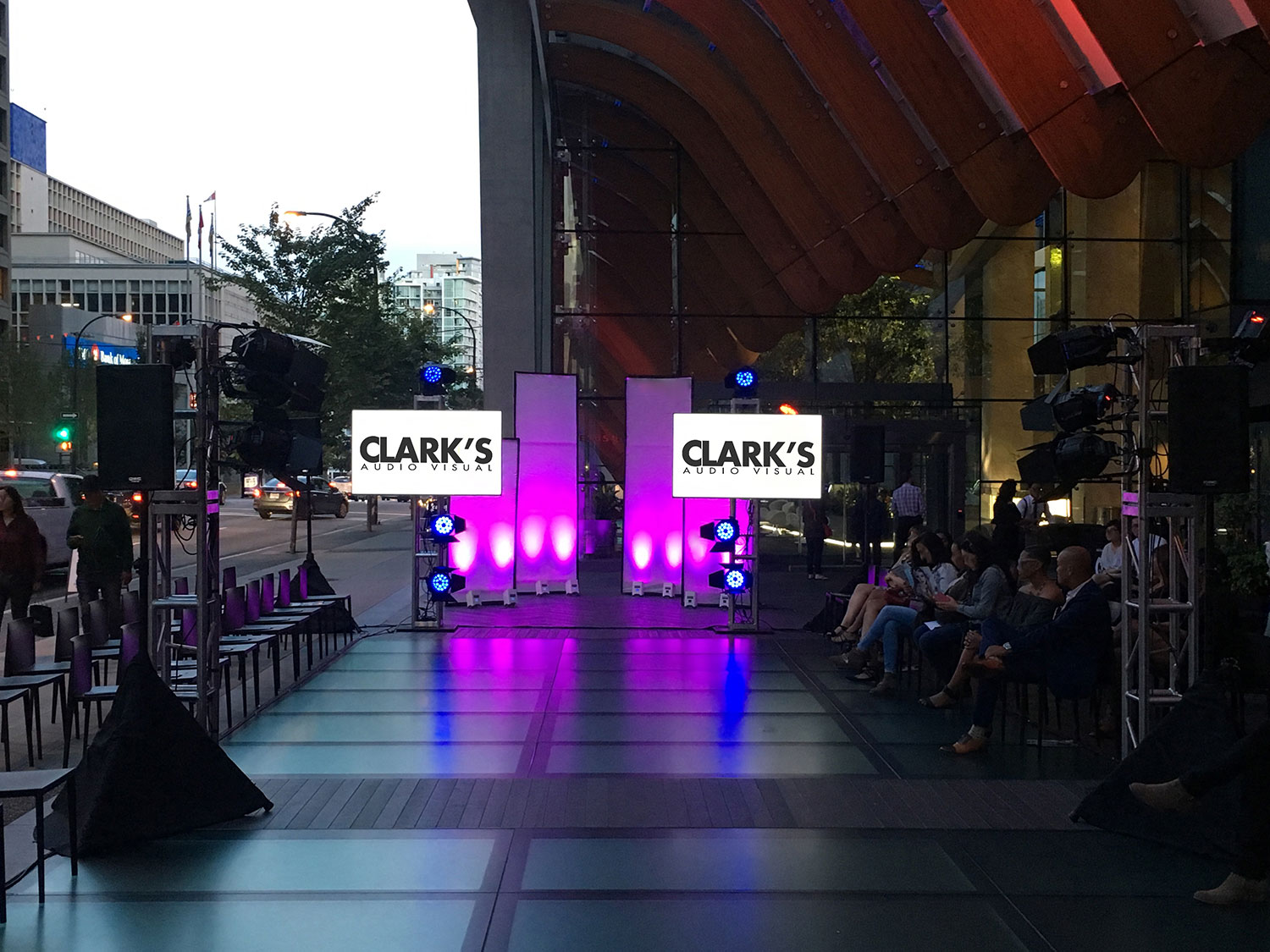 Clark's Audio Visual Fashion Show