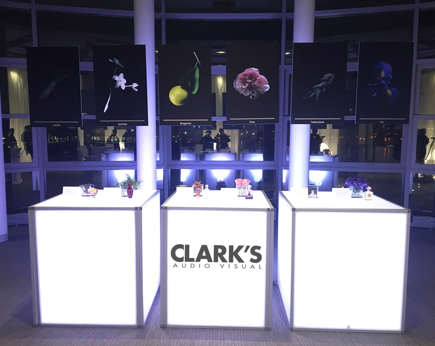 Clark's Audio Visual Cubes