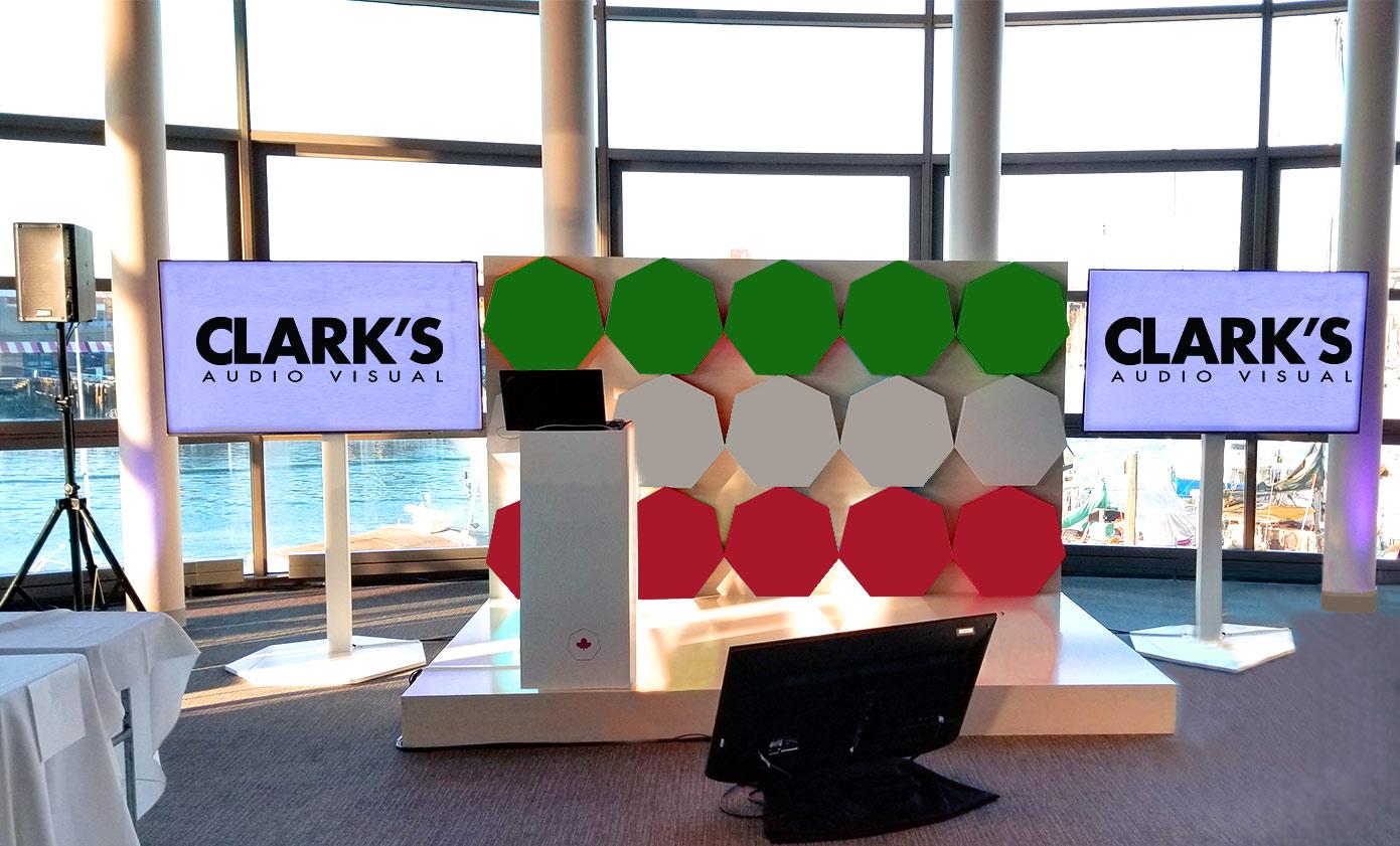 Clark's Audio Visual Rentals