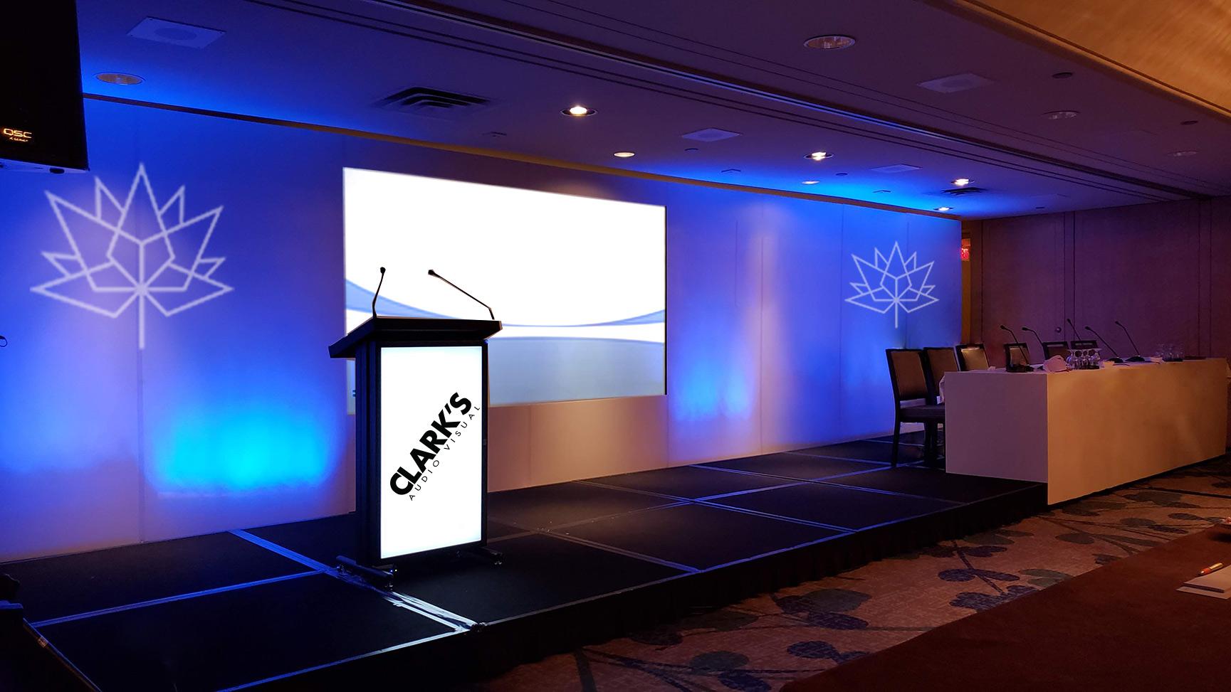 Clark's Audio Visual Corporate Events