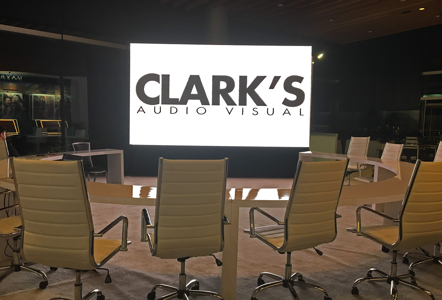 Clark's Audio Visual LED Wall Rentals