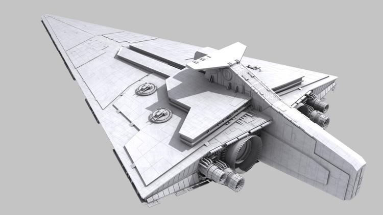 Star Destroyer (WIP)