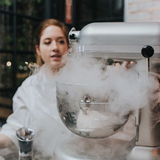 These silver beauties are a key element of how we combine liquid nitrogen to our award-winning ice cream, giving it that unique, fresh flavor that is passed immediately along to your guests. ⠀ •⠀ •⠀ Our Baristas understand how to captivate and engage guests when combining these ingredients in person at your event, for a truly interactive dessert experience!⠀ •⠀ Venue: @astorianevents⠀ Planner: @twobewed⠀ Photographer: @mwangphotography⠀ •⠀ #bridesofhouston #awphouston #weddingdesserts #uniqueweddingdesserts #houstonevents #uniqueideas #houstonlocalbusiness #houstonlife #thefreezingpoint #nitrodessert #nitroicecream #nitrogenicecream #thefreezingpointtx