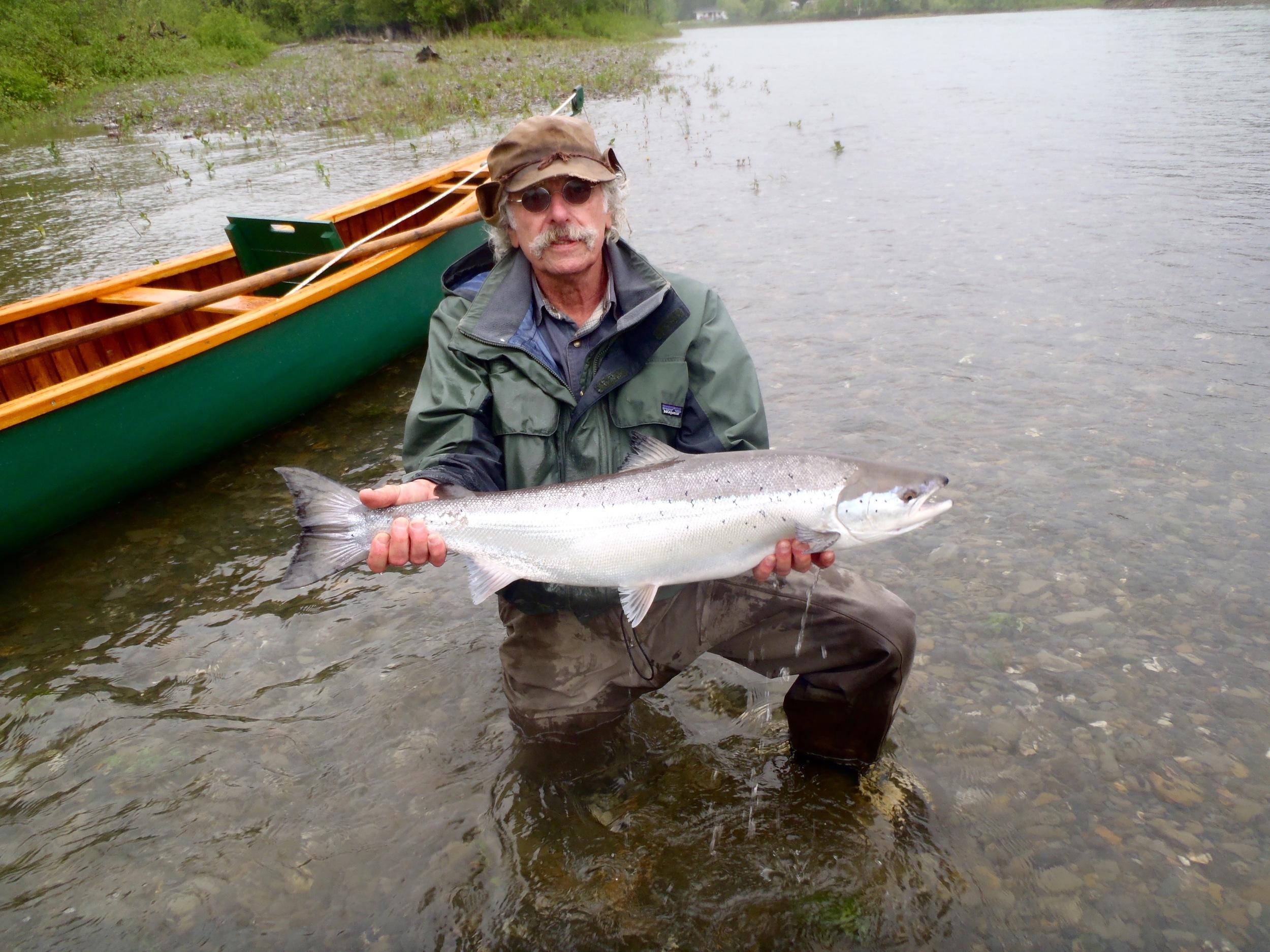 Allen Rowe est venu d'Israël pour pêcher ici. La semaine a été fantastique pour Allen qui a capturé quatre belles prises!