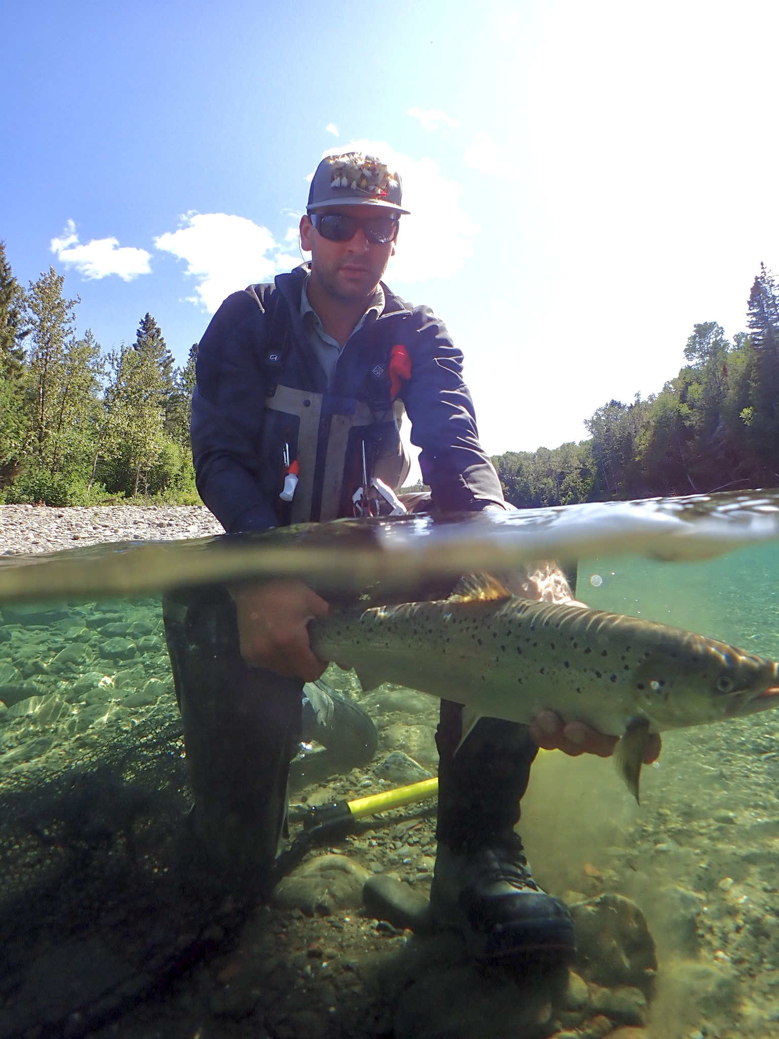 Monday - Kevin Cayouette with Joe's Fish - Petite.jpg