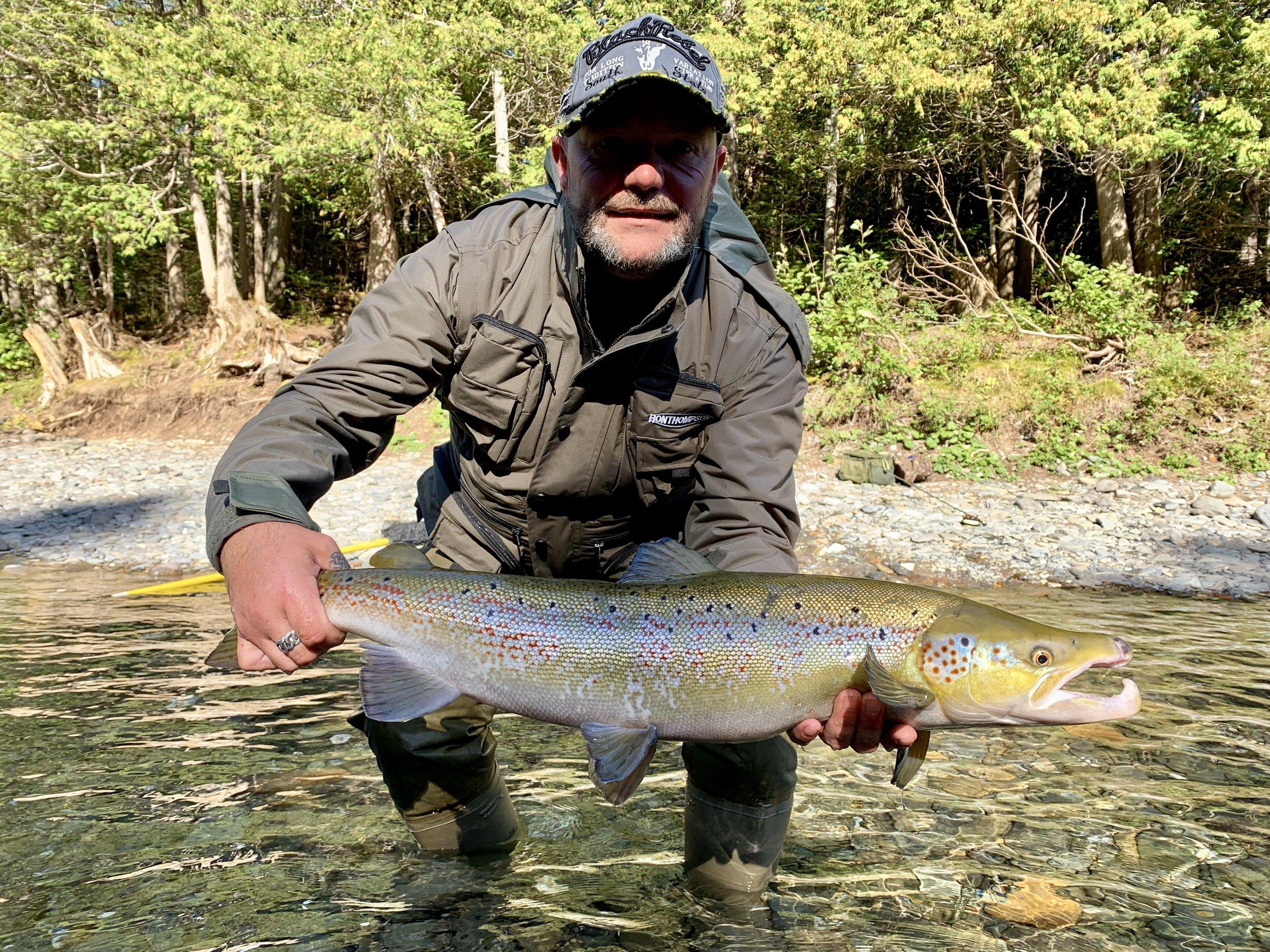 Dion Grinbergs a capturé ce beau spécimen de mâle dans la Bonaventure! Magnifique prise, Dion! Beau travail!
