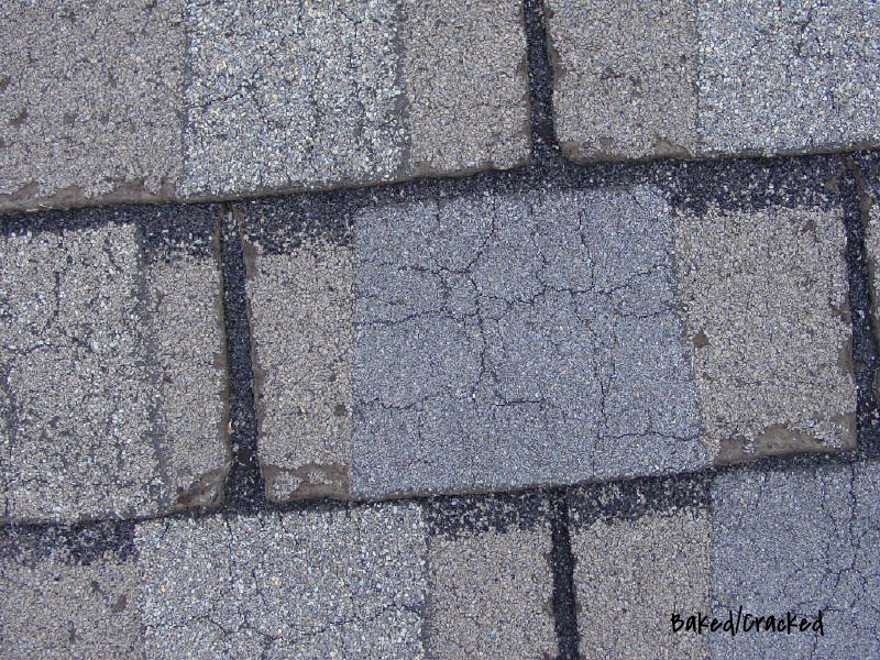 Baked/Cracked Shingles