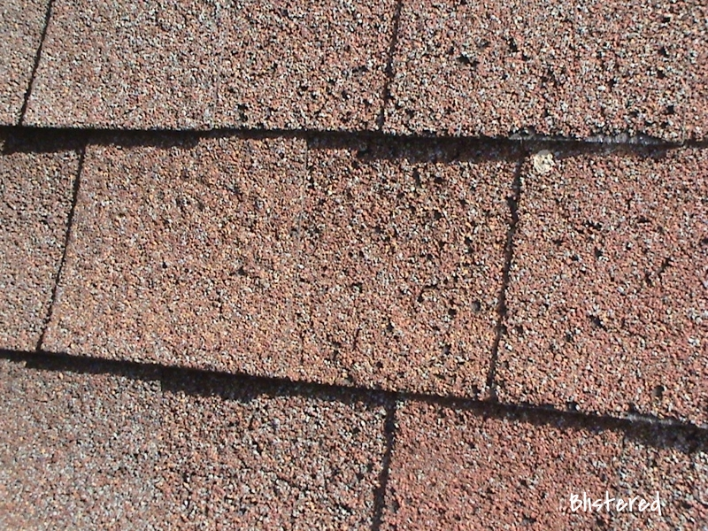Blistered Shingles