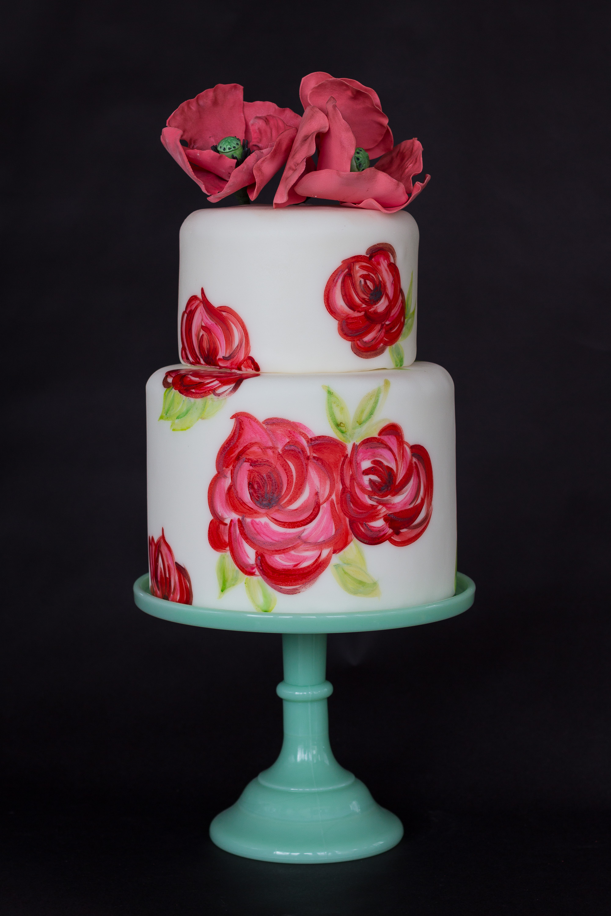 Wedding Cake8 - Hand-painted Cake.jpg