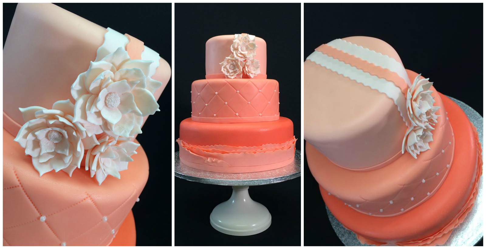 wedding Cake11 - Shades of Salmon Quilted Ruffle Cake.png