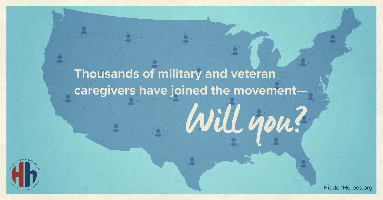 Graphic encouraging caregiver registration.