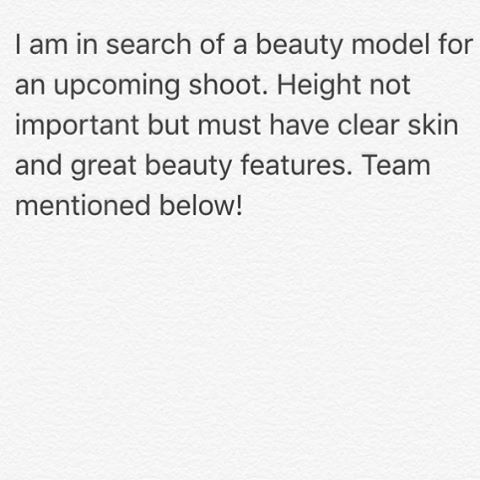 "#modelcall #model #casting #scoutme #modelscout #modelbooker #modelneeded #modelrequired #newfaces #beauty #photography #makeup Shooting with myself and @williamclarkphoto for some really beautiful commercial ""cosmetics ad"" style images. Will be shot in Liverpool as soon as we find the right face! Comment below and make sure there is a clean, no makeup headshot on your profile (you can tag me in it too!)"