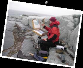 Dominik Modlinski in Antarctica