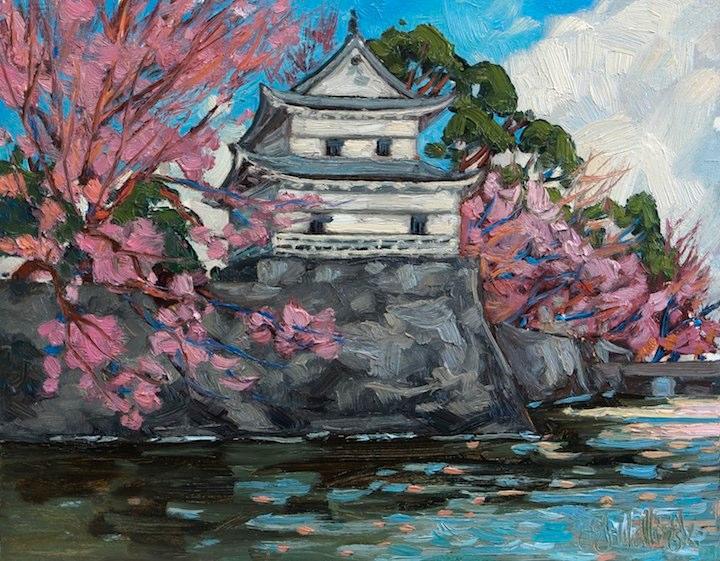 Cherry Blossom at Shibata Castle.jpg