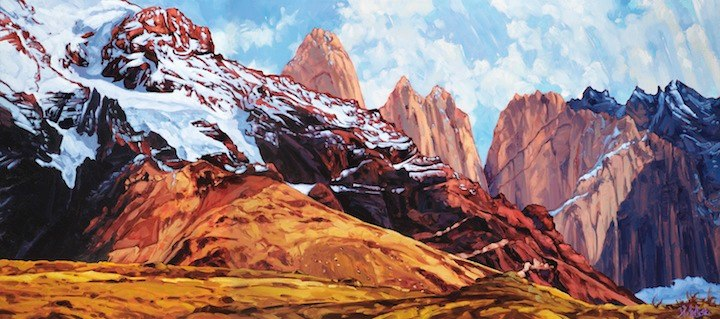 Fin del Mundo 32x72 oil on canvas 2014 300dpi.jpg