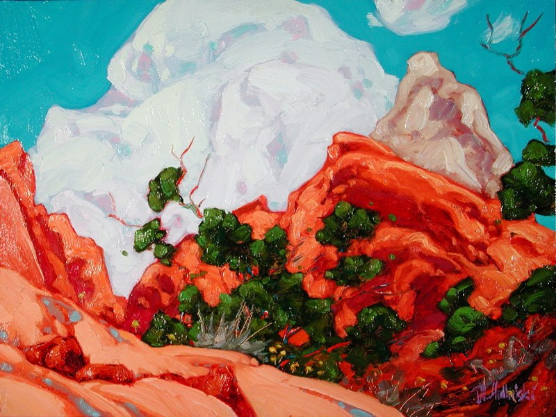 Afternoon in The Capitol Reef.jpg