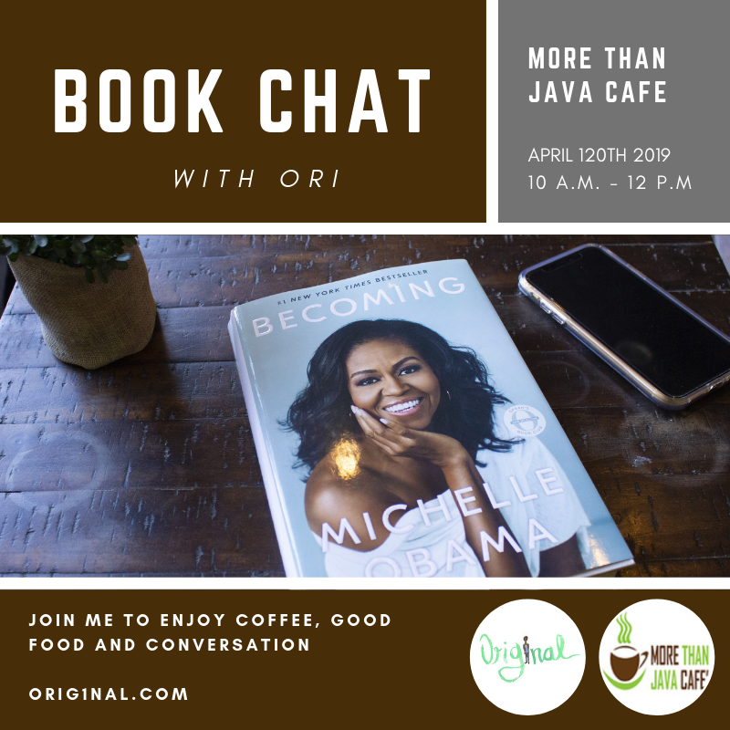 By popular demand, I'll be hosting a second book chat for those that missed the first one. Make sure you RSVP to save your spot! See you there