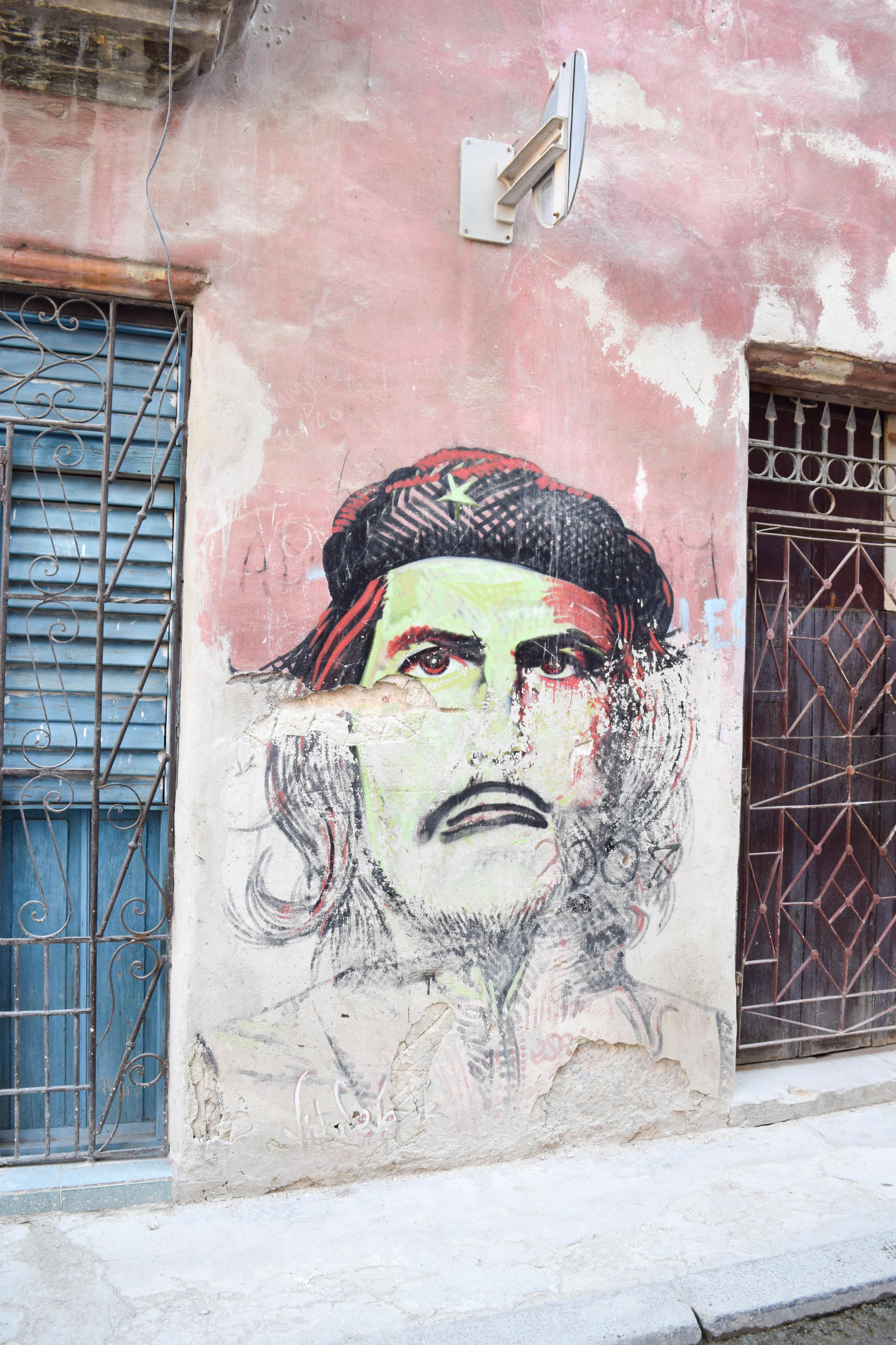 Mural of Che Guevara