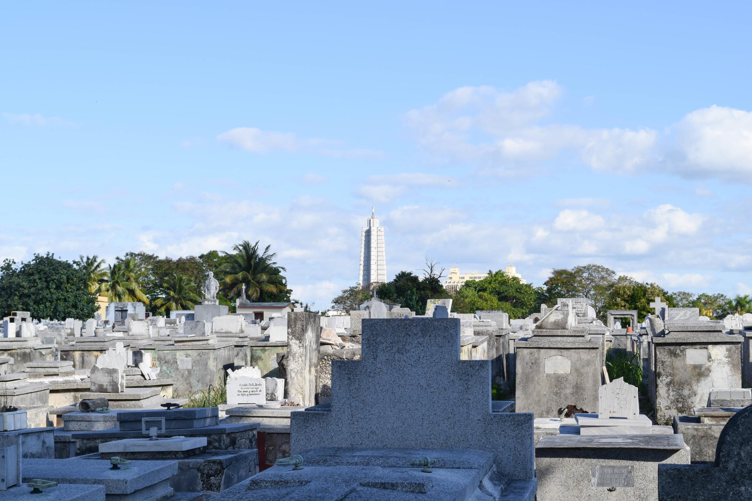 View of José Martí Memorial