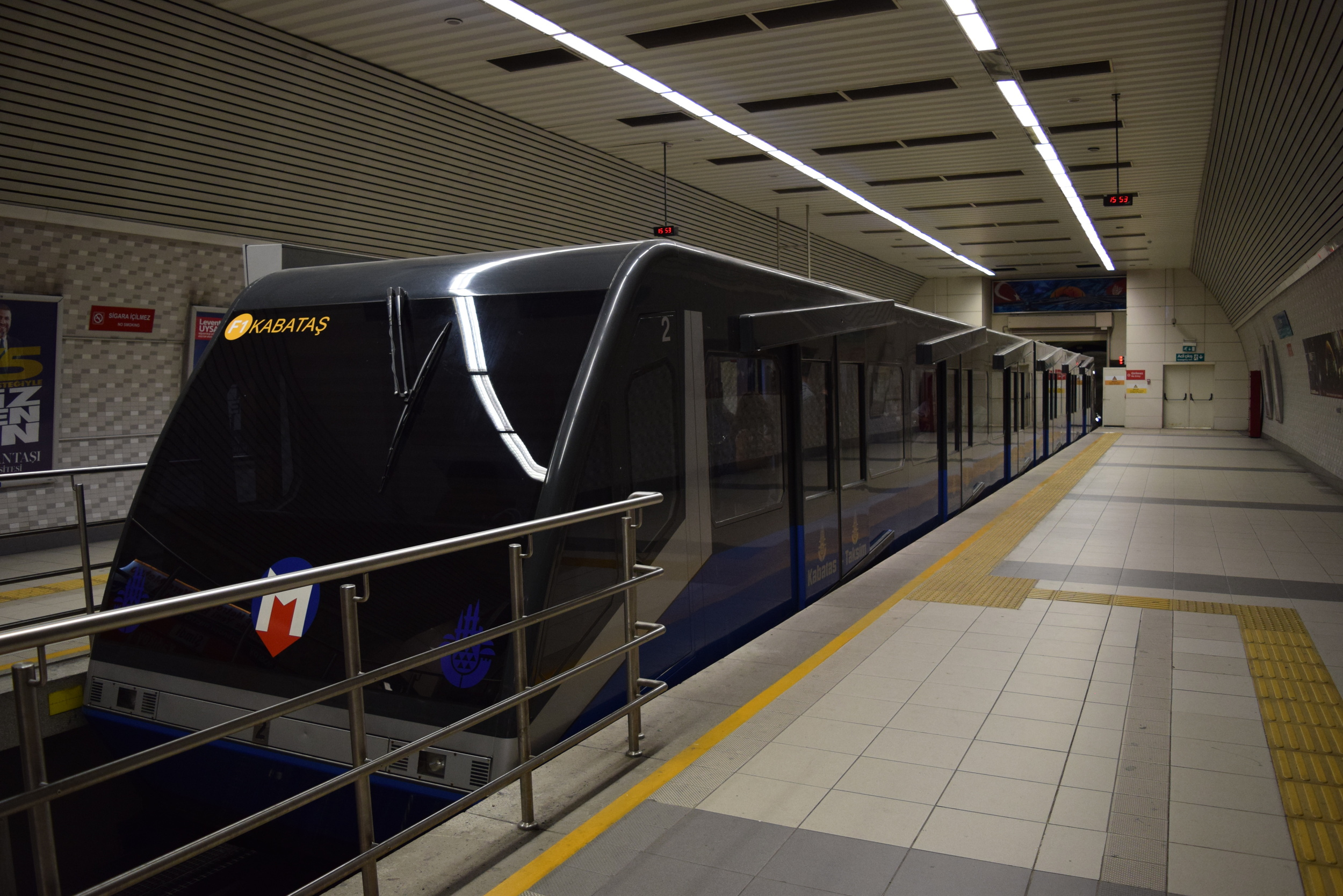 The Taksim Funicular Train