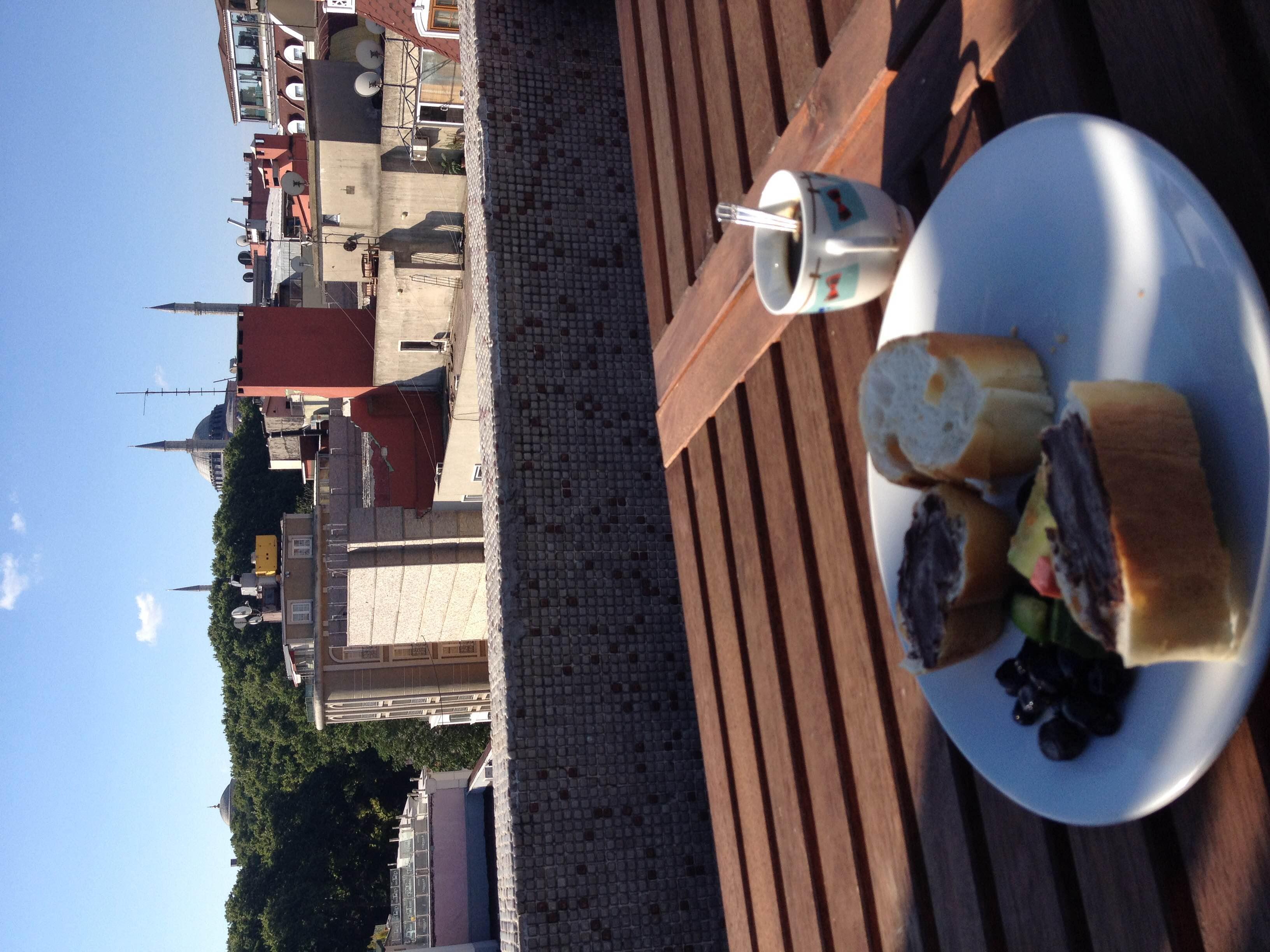 One last breakfast in the shadow of Hagia Sophia