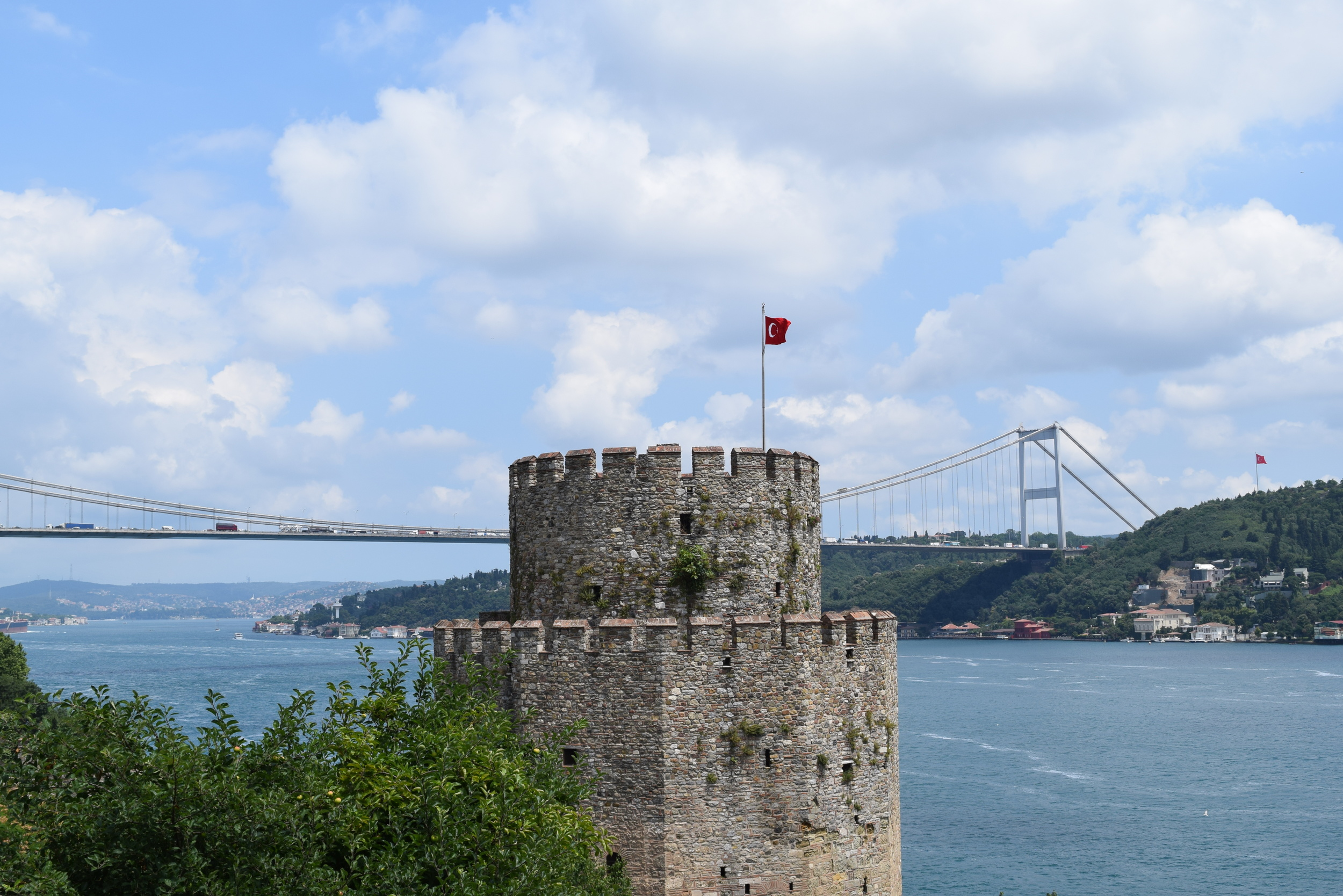 A view across the Bosphorus