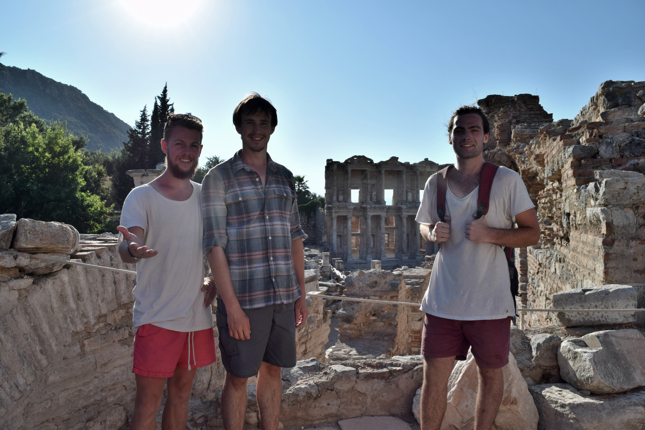 With Ryan and Paul at Ephesus
