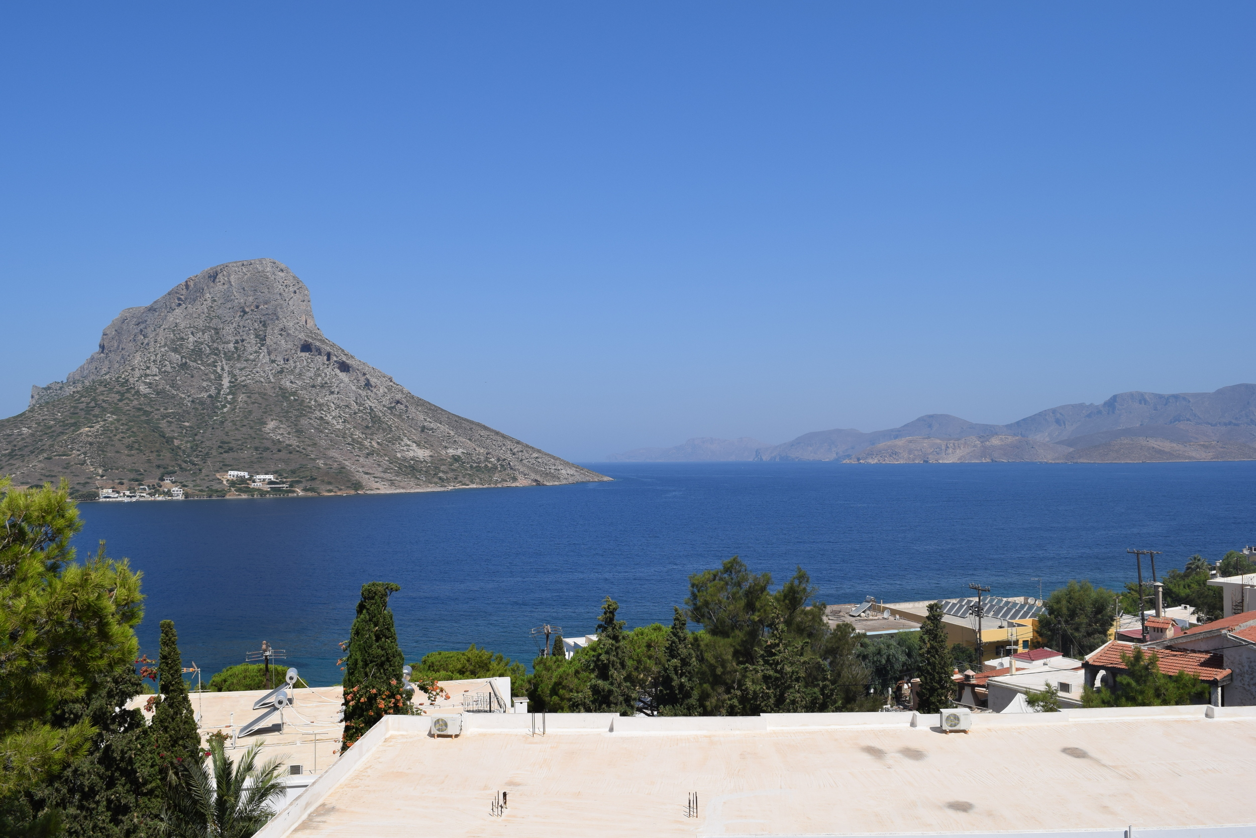 View from my room in Kalymnos