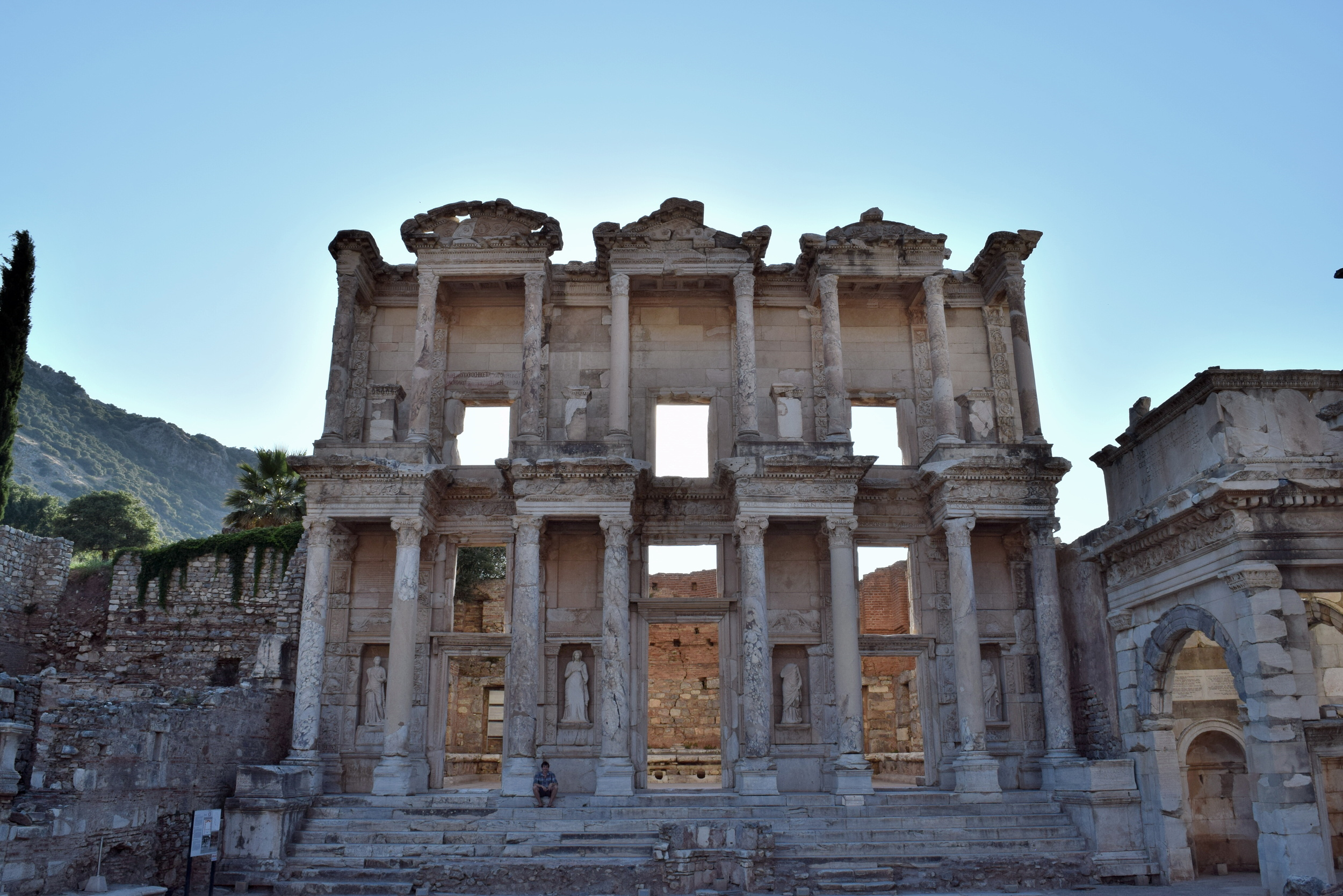 Façade of the Library of Celsus
