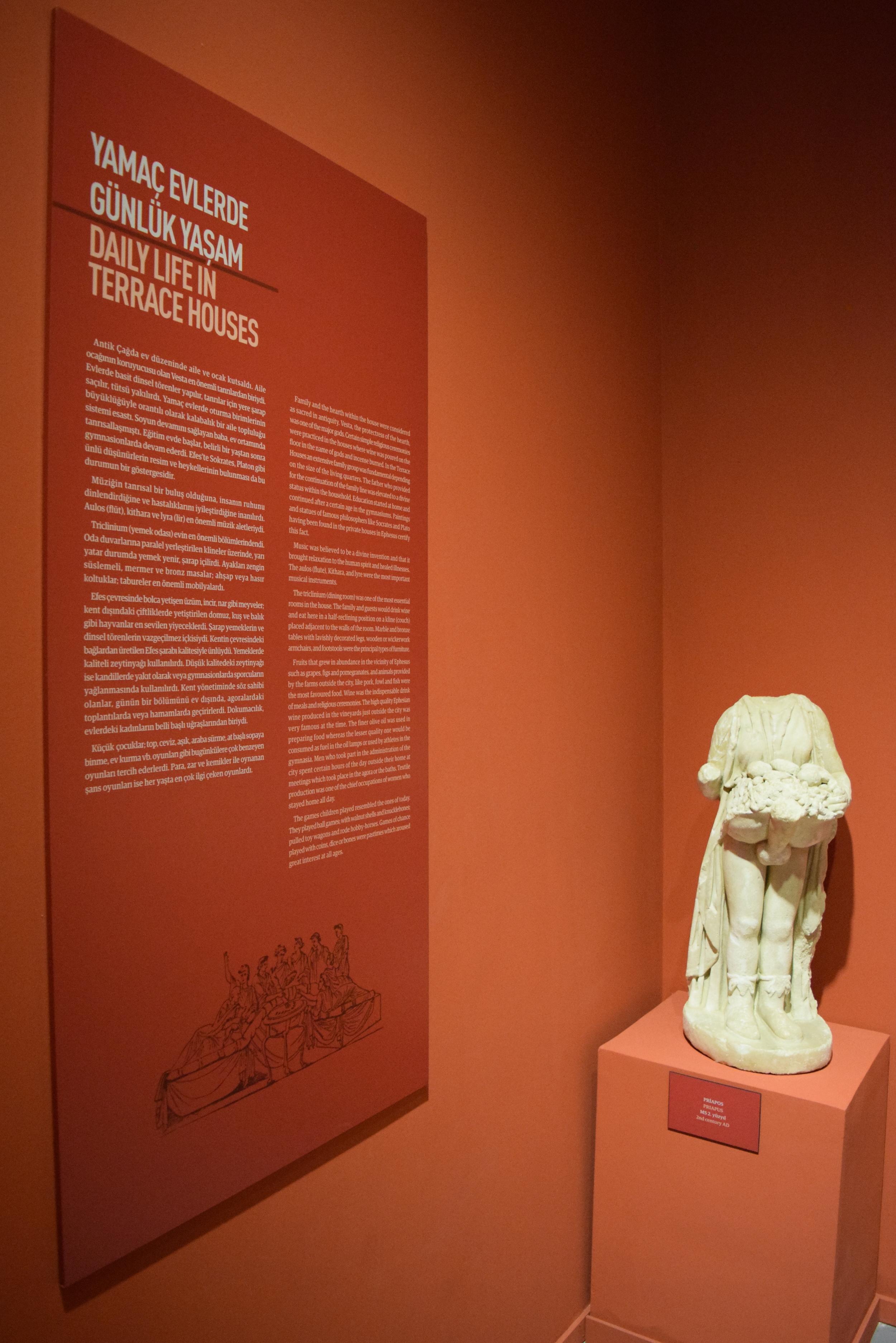 "Statue of Priapus found in the Ephesus ""House of Love"""