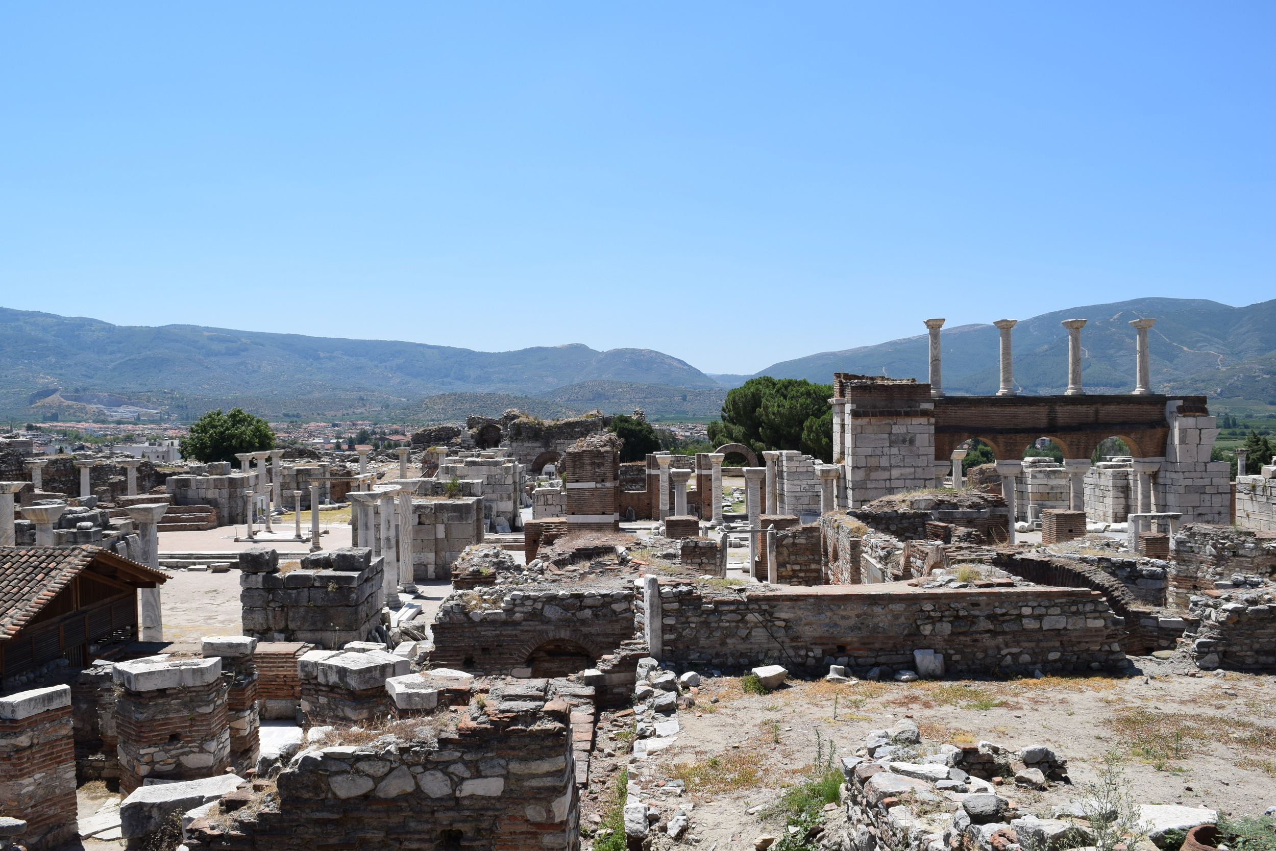 Ruins of the Basilica of St. John