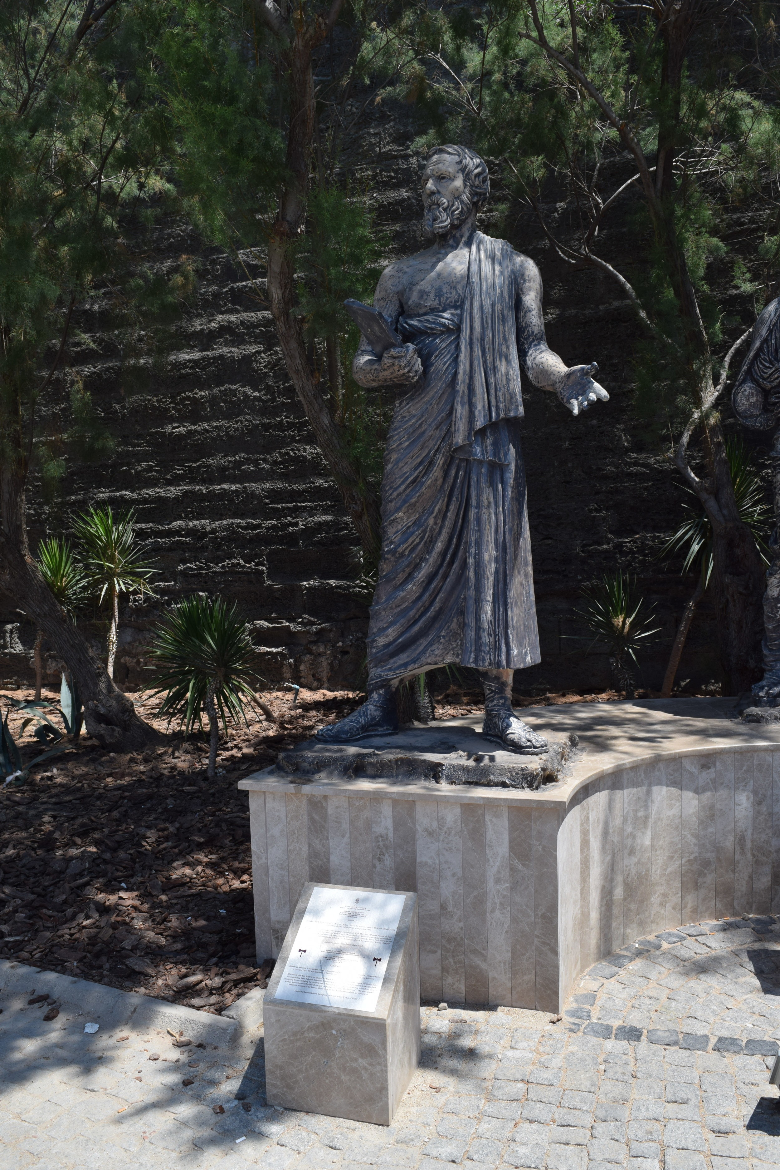 Statue of Herodotus in Bodrum