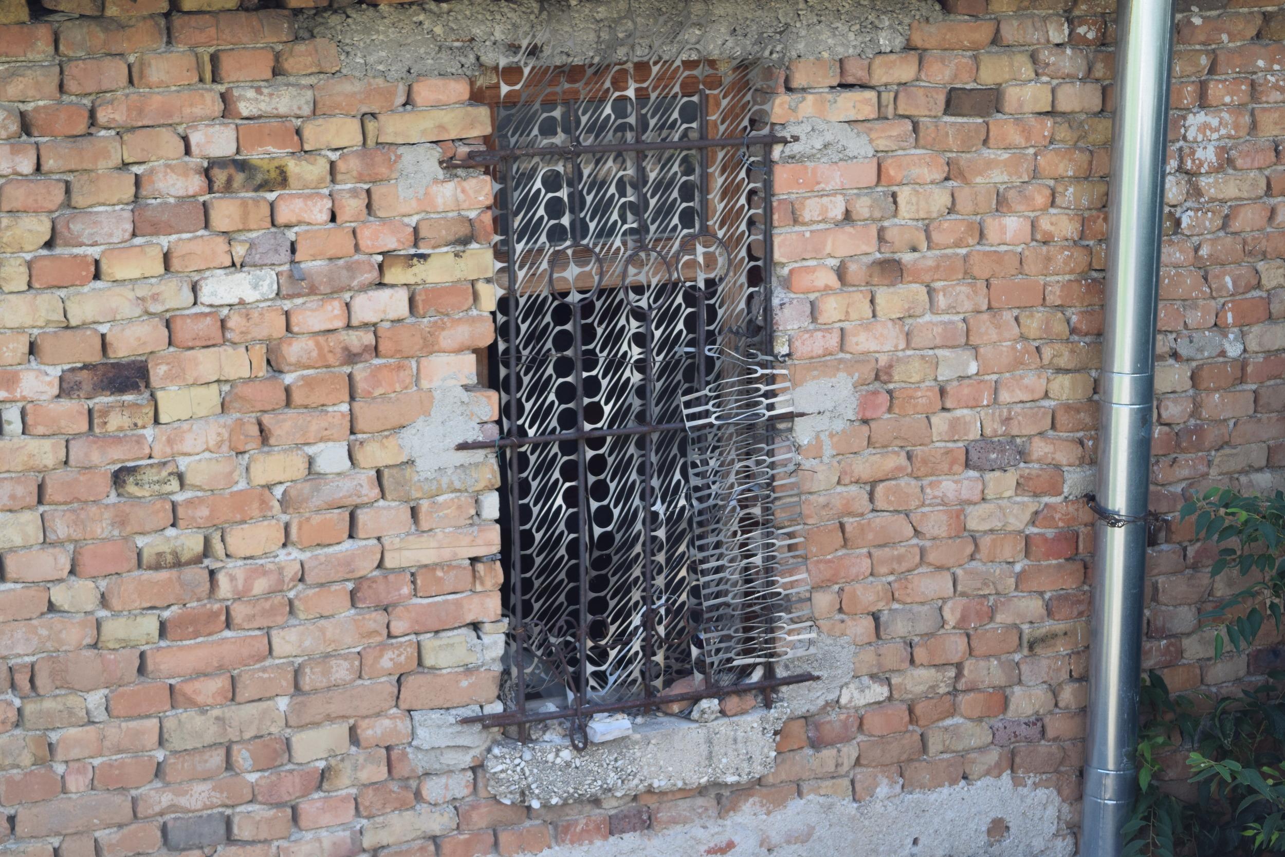 Factory metal being reused