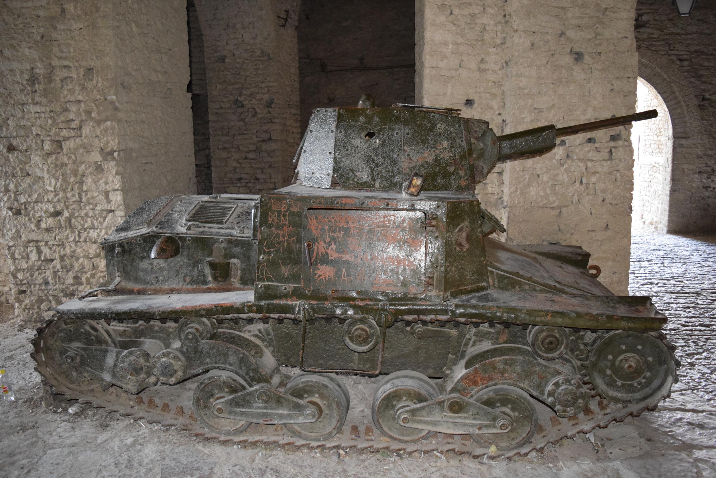 Gjirokaster Castle Tank