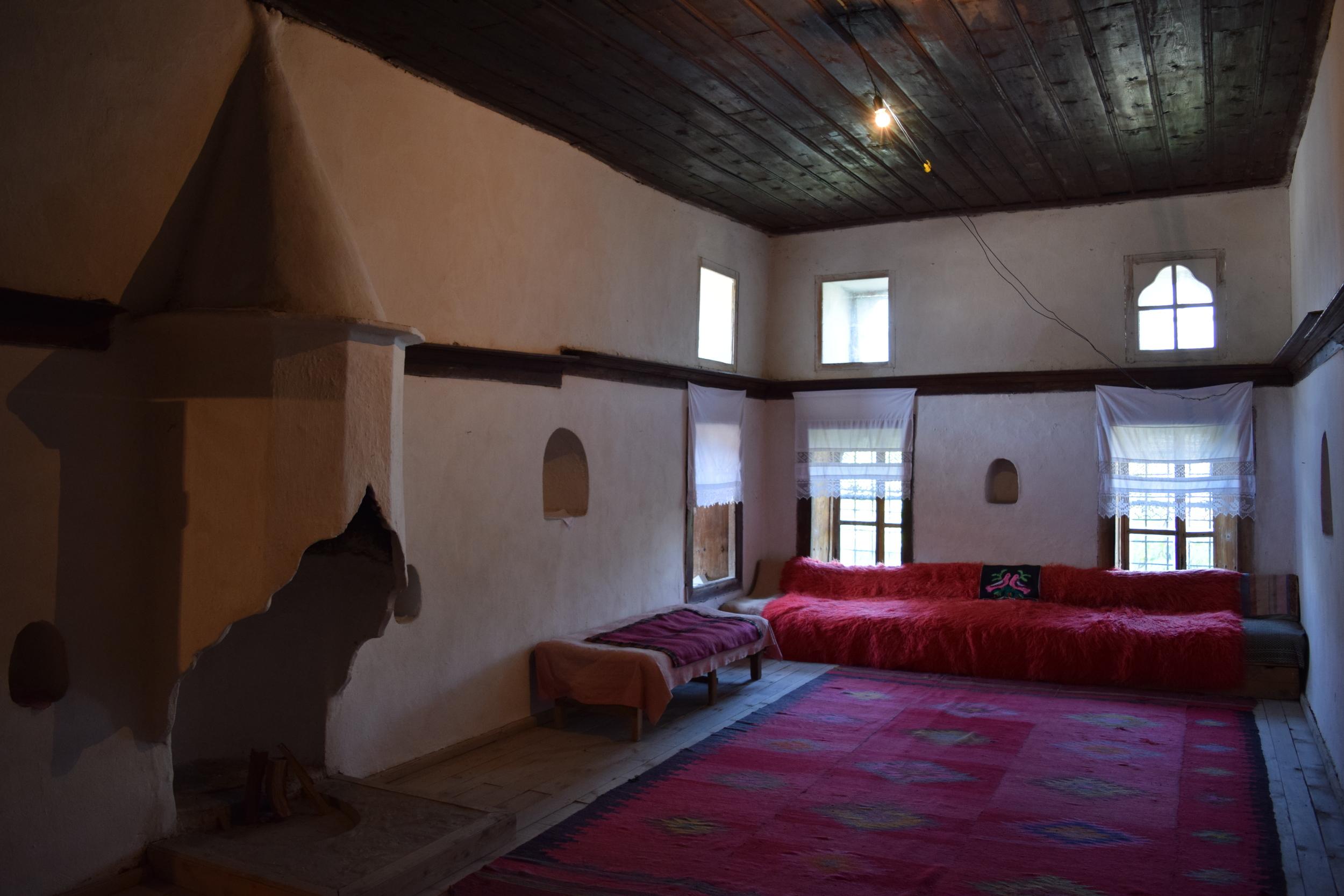 A room inside the Skenduli House