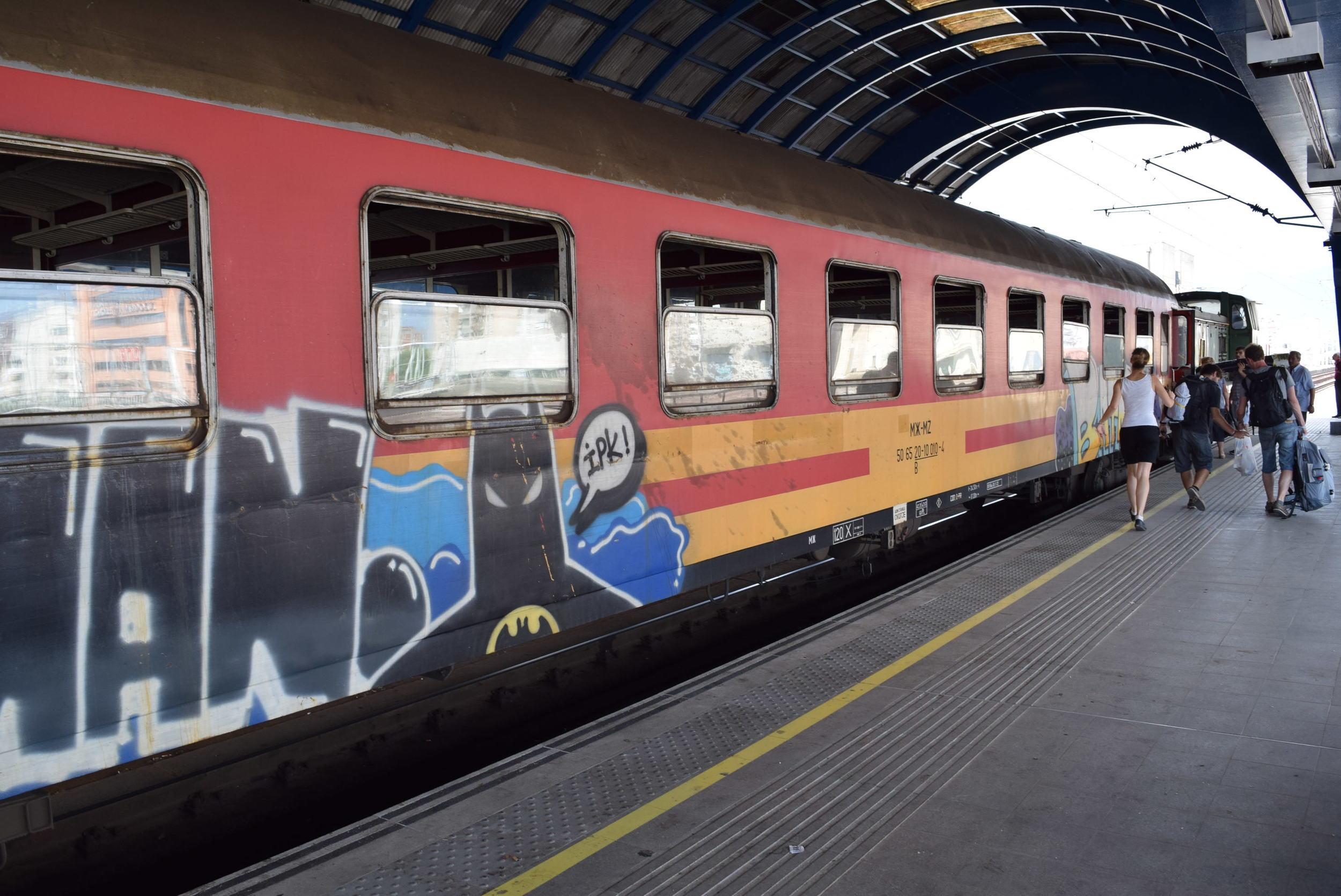 The train from Skopje