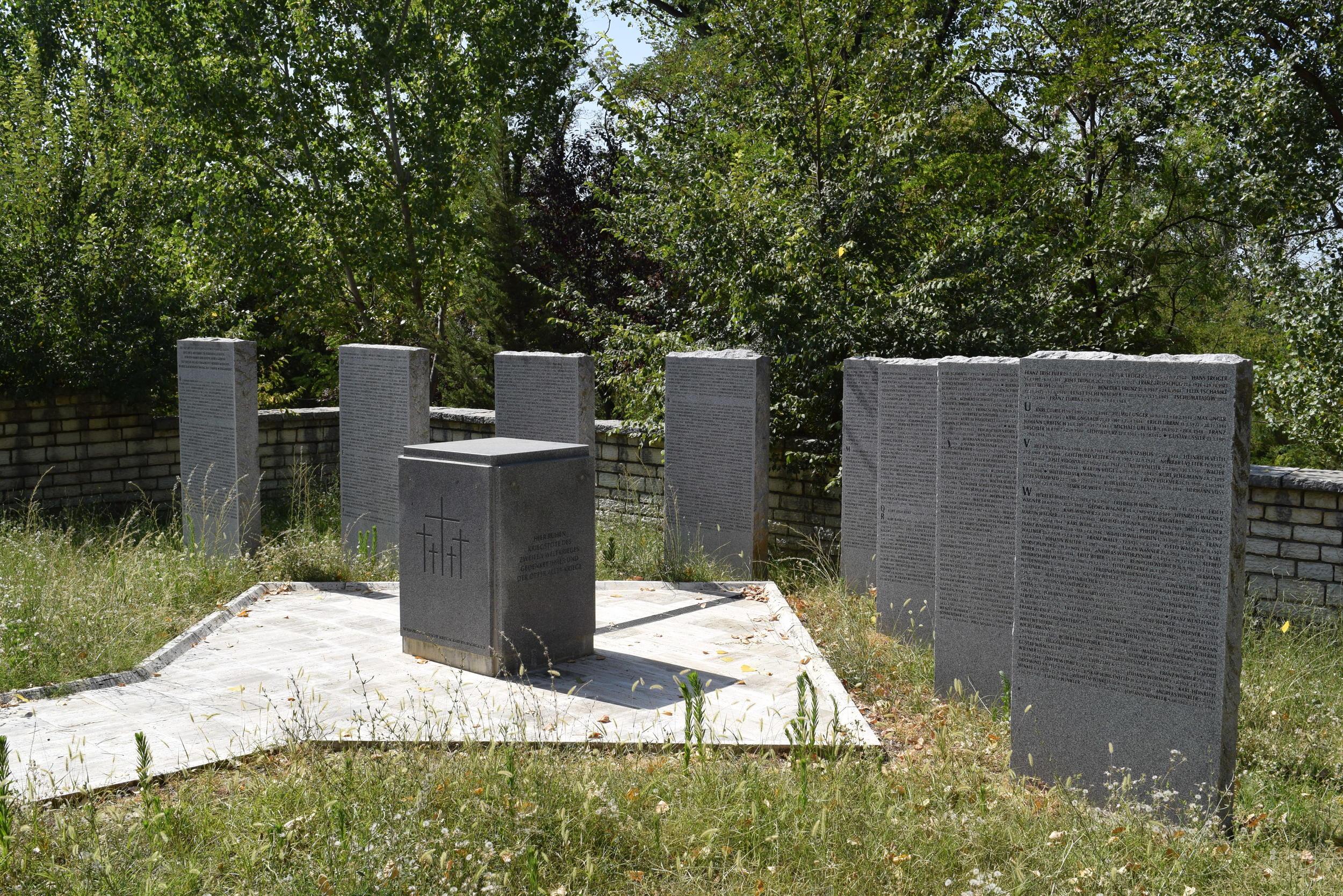 The German war memorial