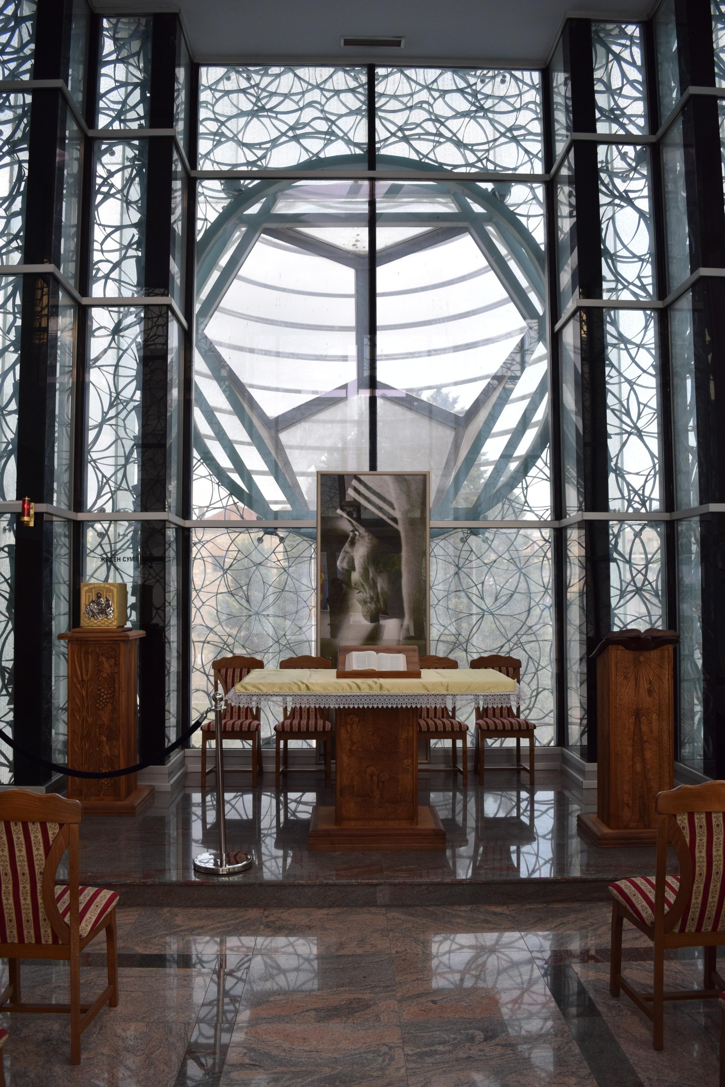 Chapel insideMother Teresa Memorial House