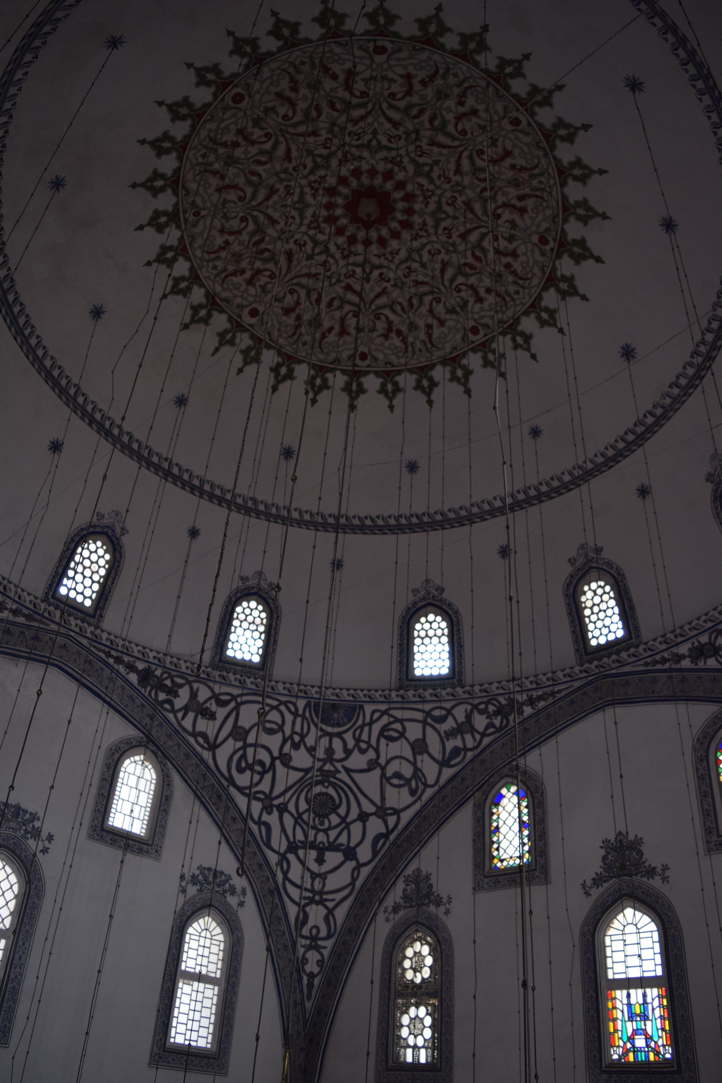 Interior of the mosque