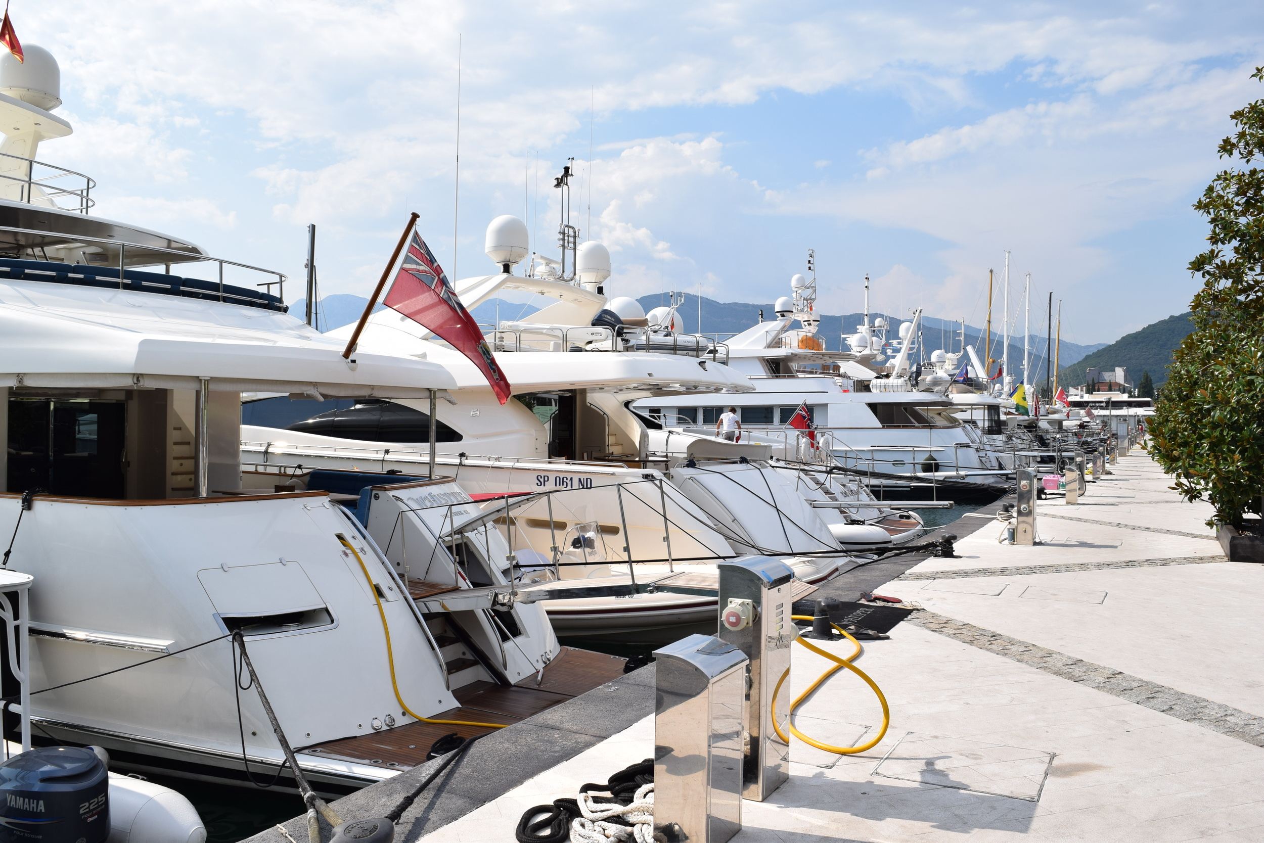 Yachts in Tivat