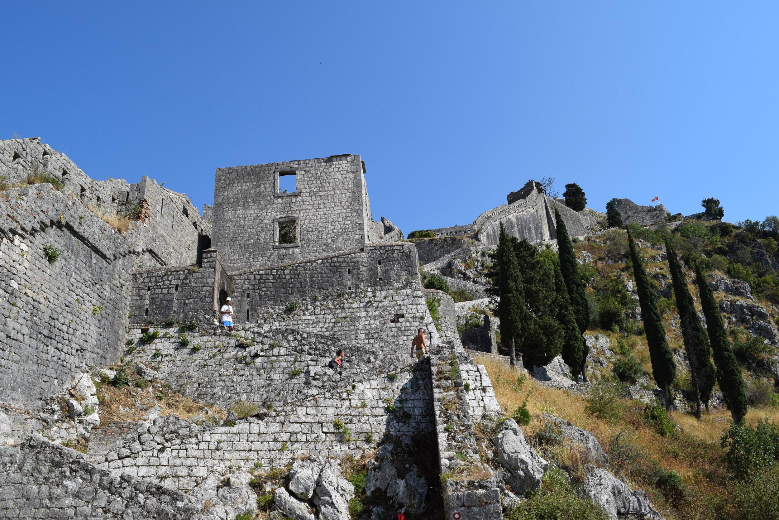 Walls up Kotor