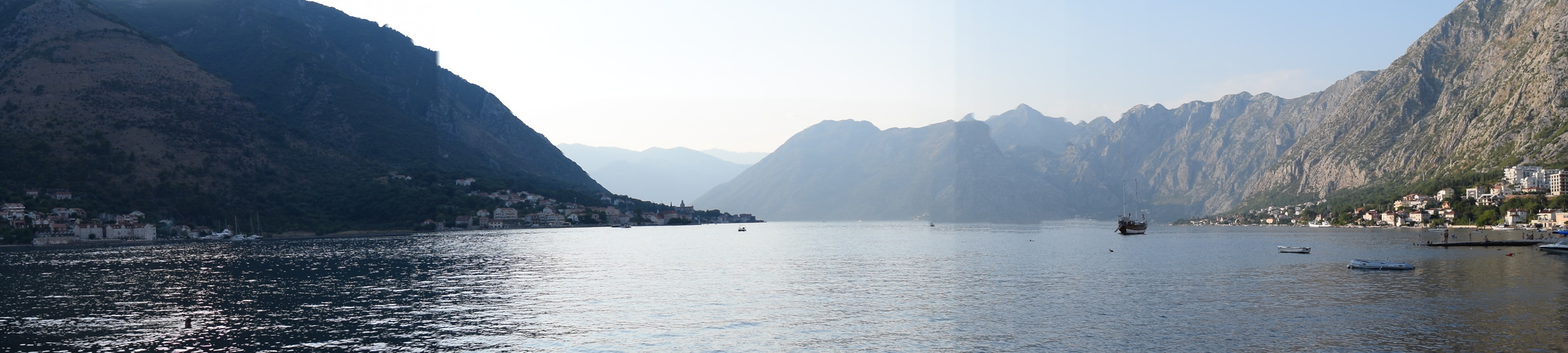 Panorama of the Bay of Kotor