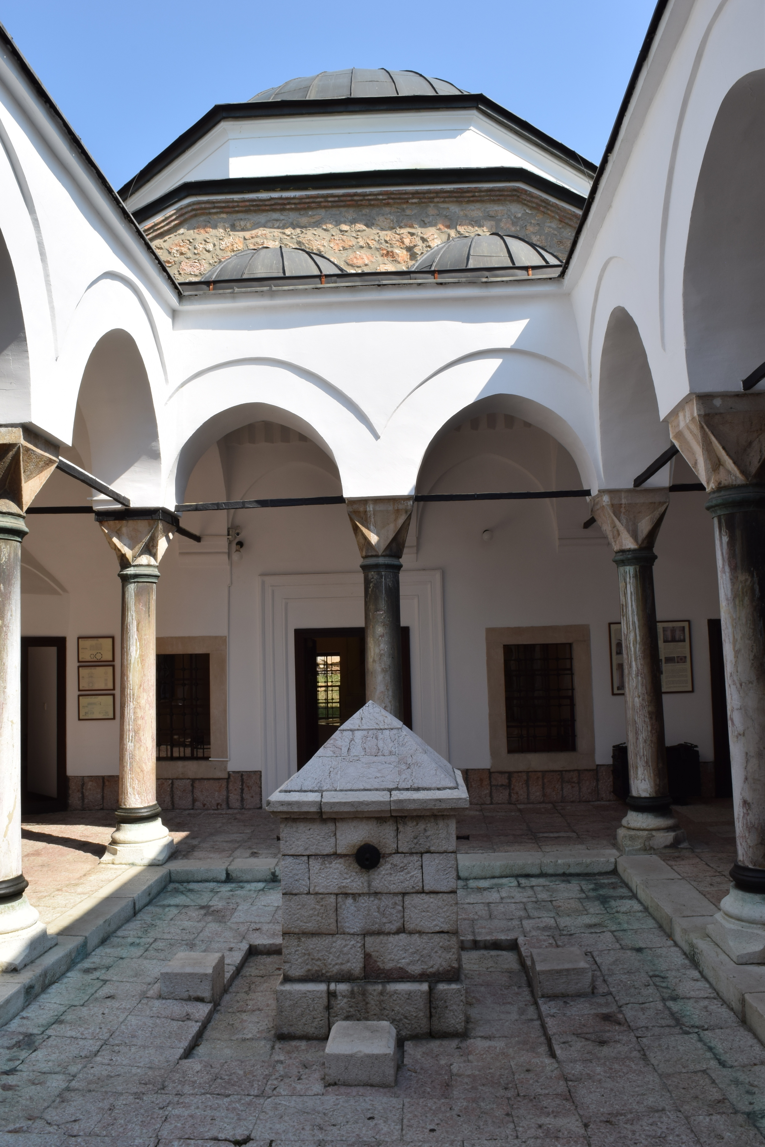 Courtyard of the madrasa