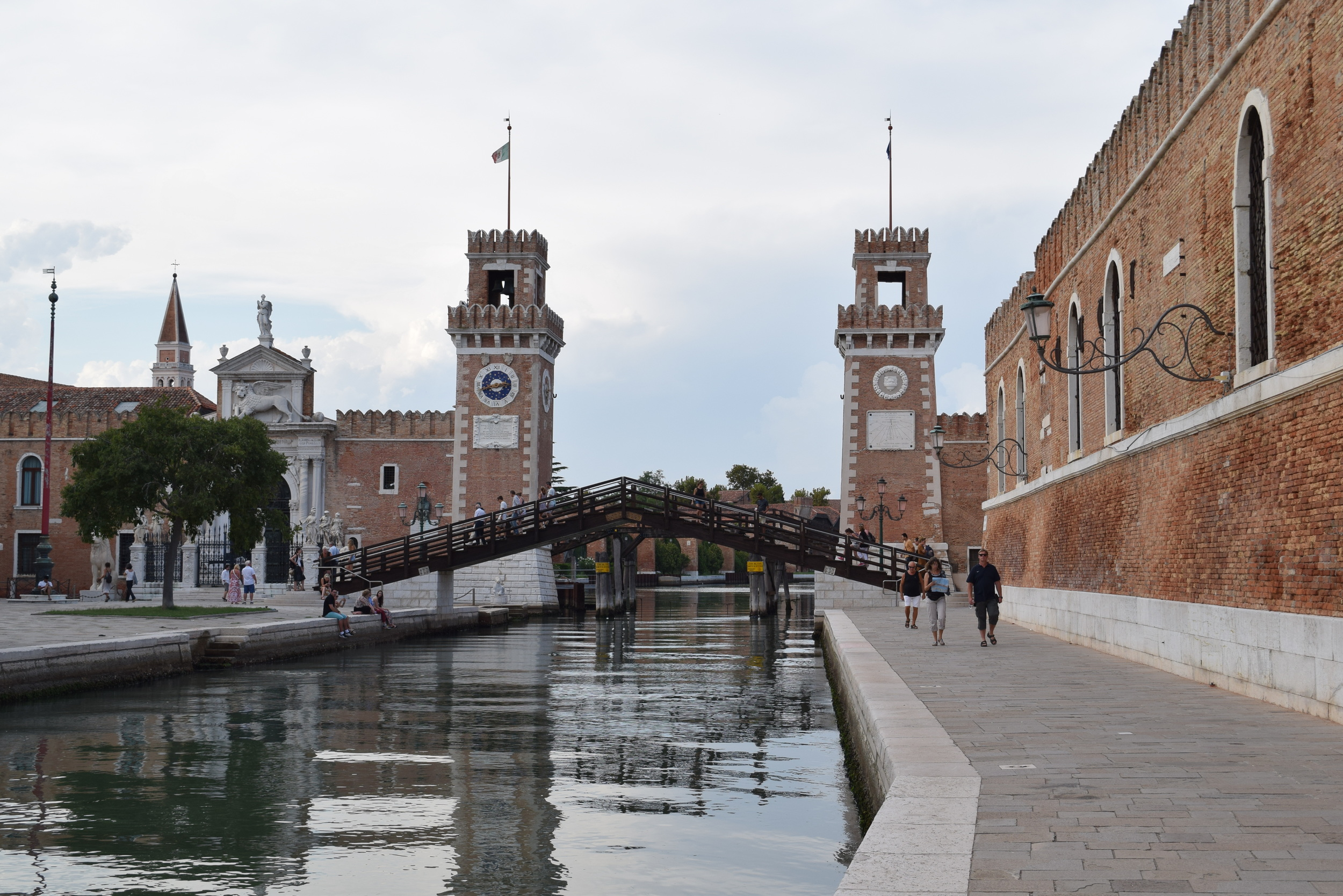 The Venetian Arsenal was once a major source of the city's power