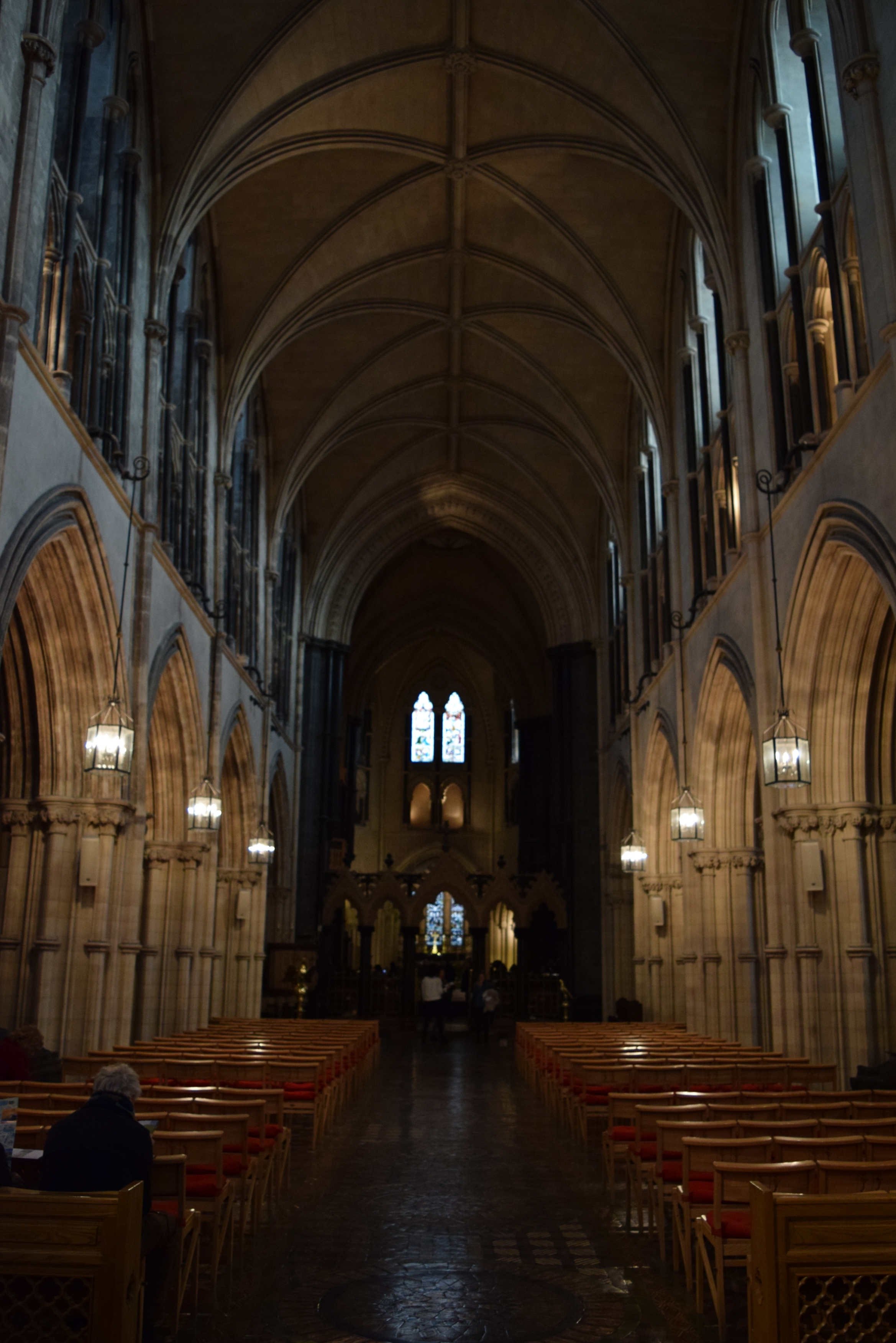 Inside of Christ Church Cathedral