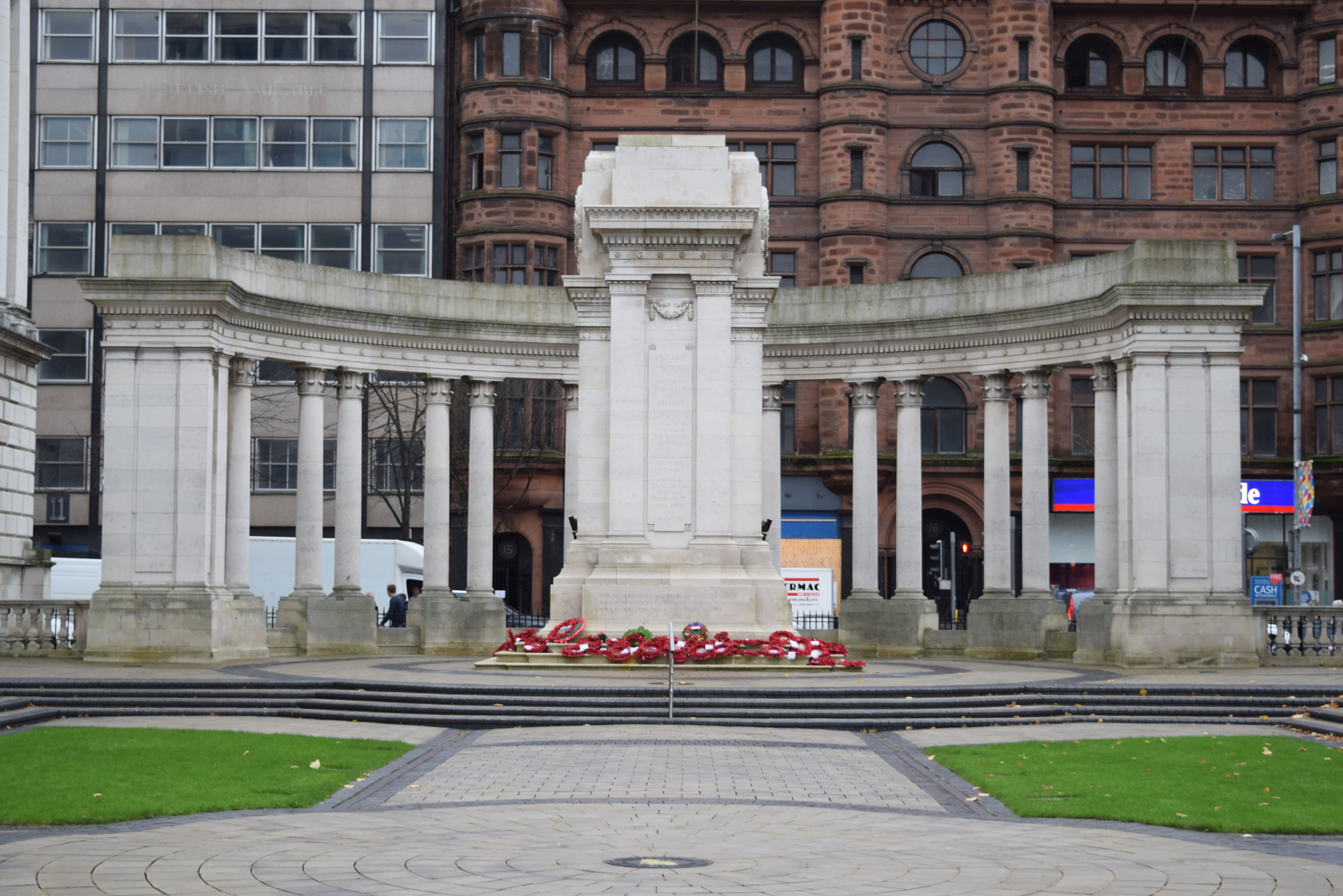 Garden of Remembrance and Cenotaph, Belfast