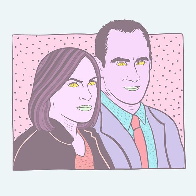 IN THE CRIMINAL JUSTICE SYSTEM, SEXUALLY BASED CHARGES ARE CONSIDERED ESPECIALLY HEINOUS 🙅🙅‍♂️🙅 #bringbackstabler #lawandorder #svu #illustration #illustrator #linework #lowbrow #lowbrowart #popart #pastel