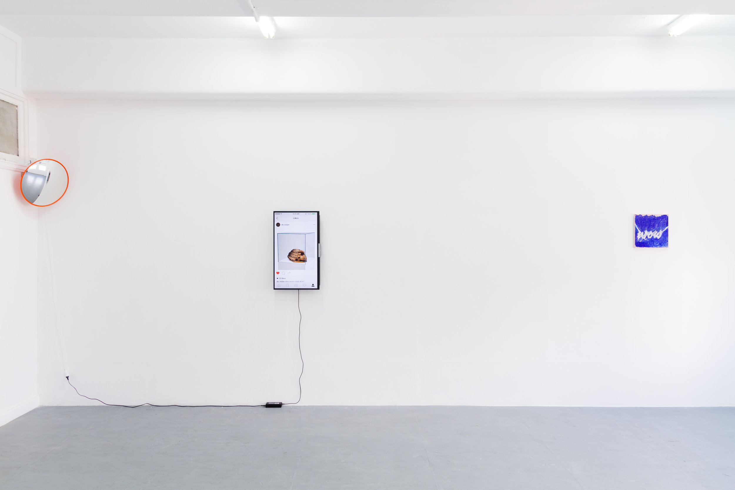 Title is Important .installation view,Blindside ARI, 2016. Photo by Dane Lovett.