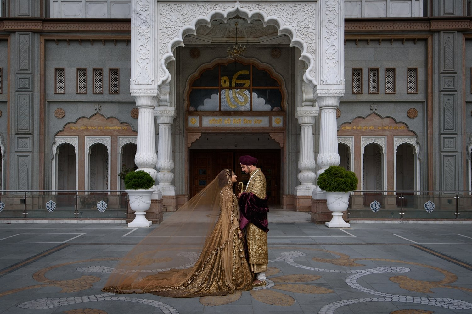 Gravesend Gurdwara Wedding Photographer